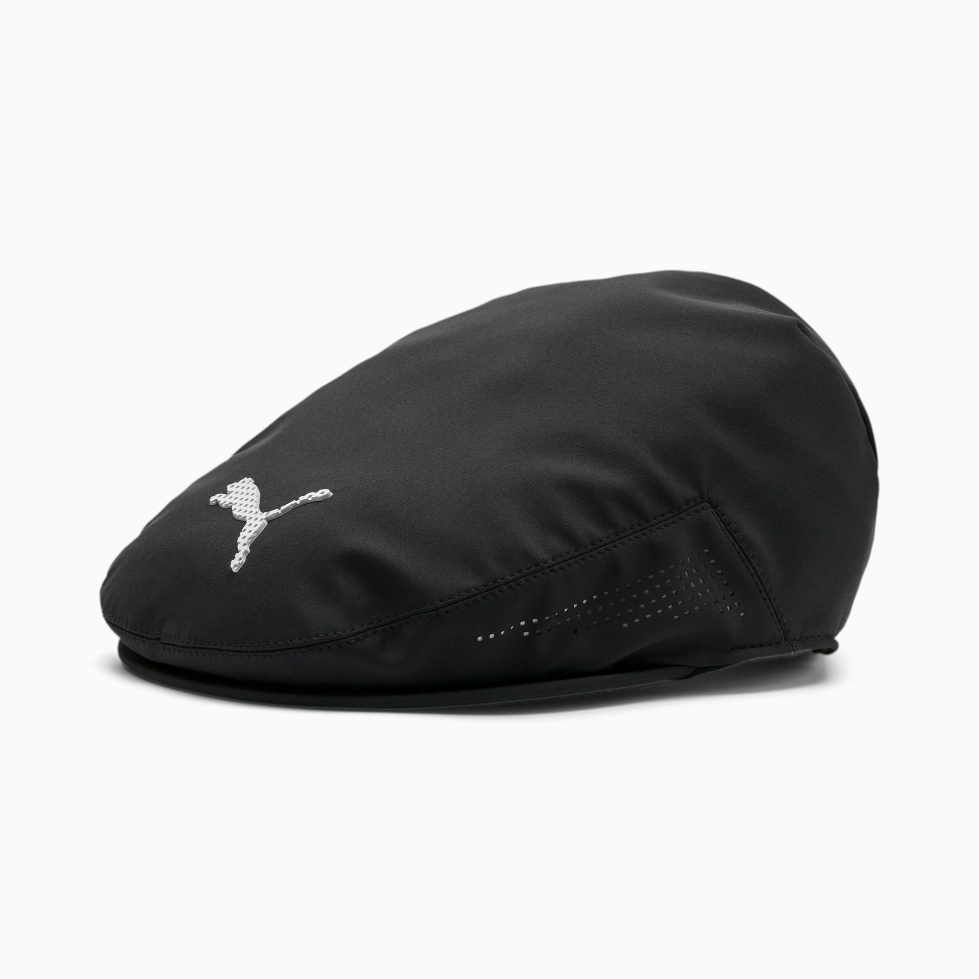 PUMA Casquette gavroche de golf Tour pour Homme, Noir, Taille S/M, Accessoires