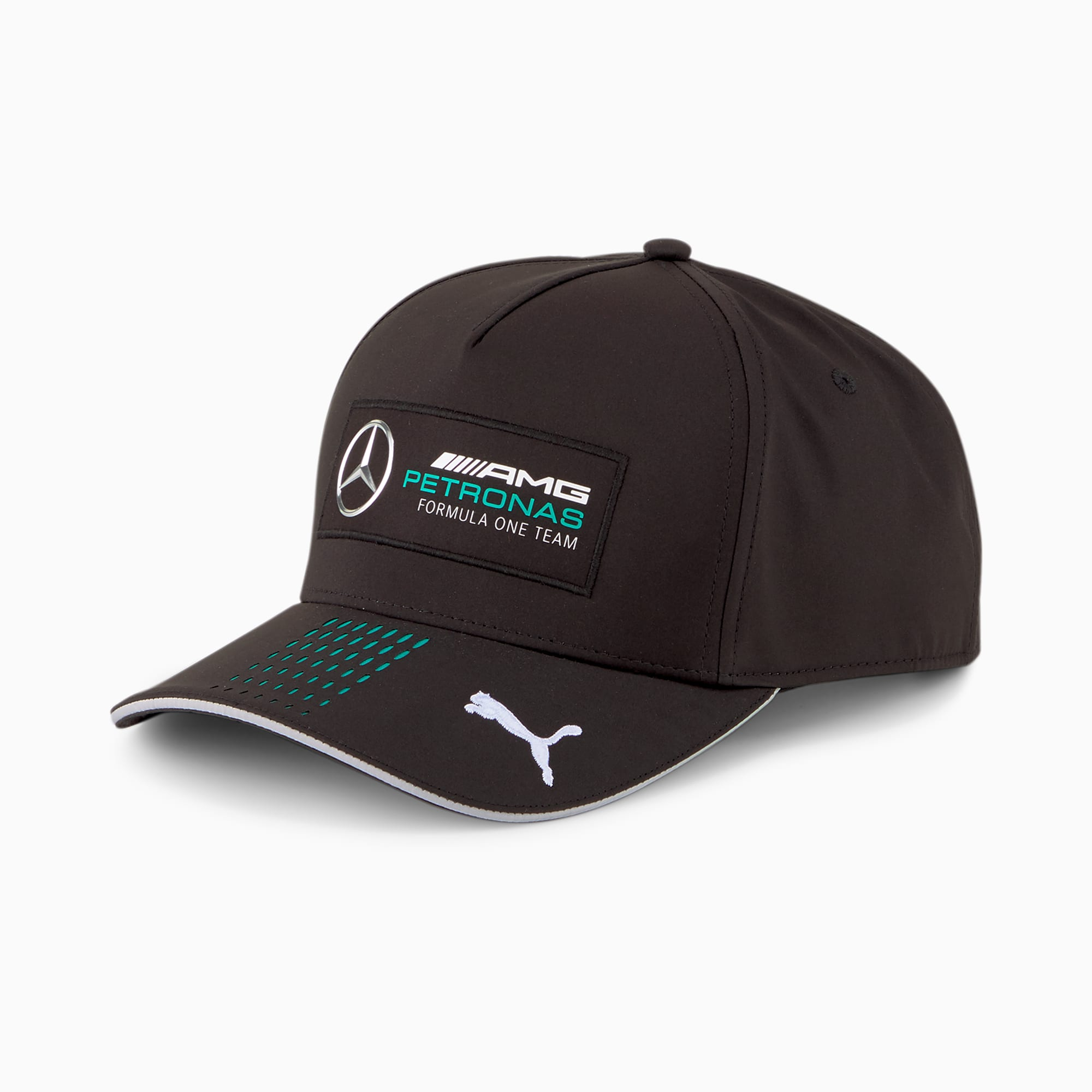 Casquette de baseball Mercedes F1, Noir, Accessoires - PUMA - Modalova