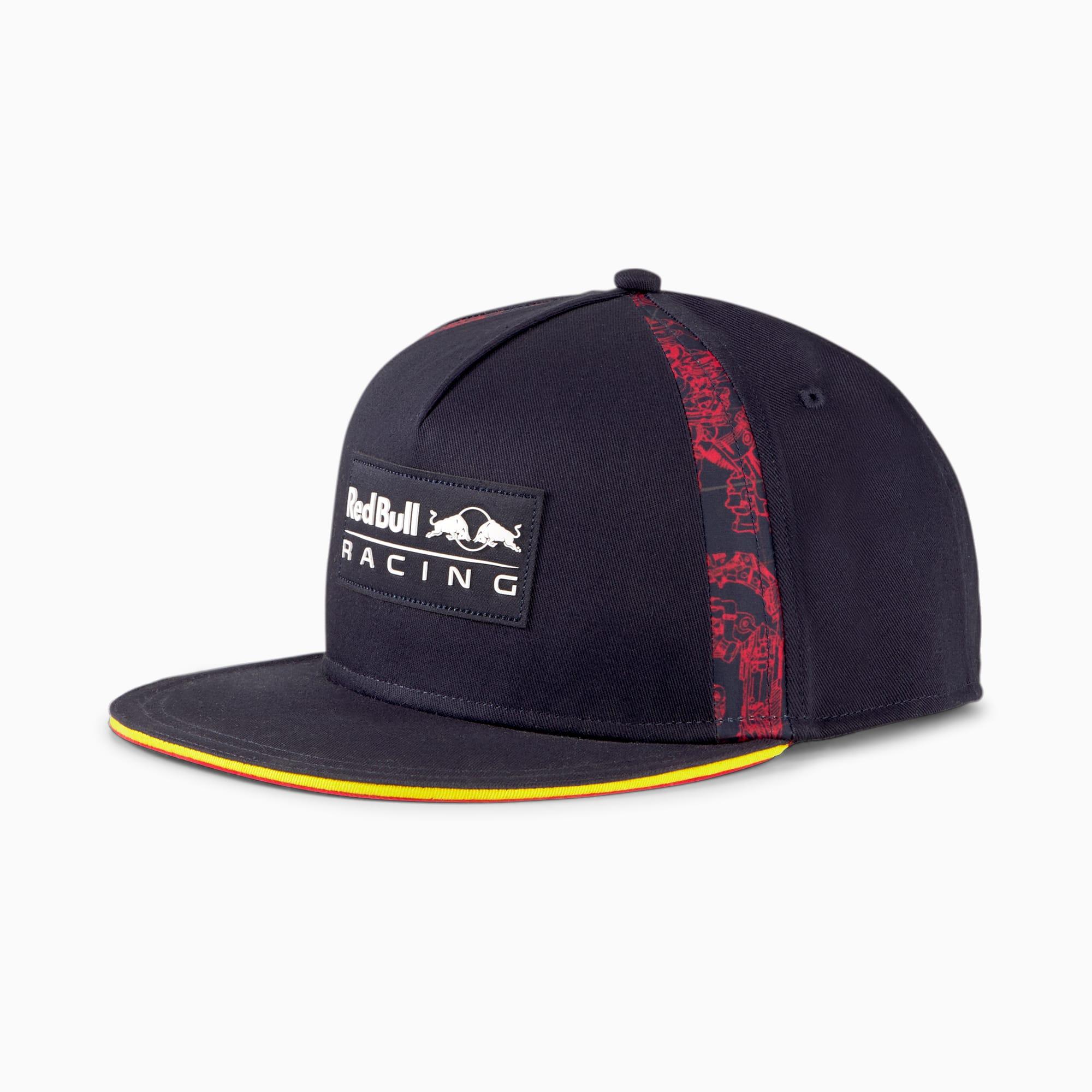PUMA Casquette à bord plat Red Bull Racing Lifestyle, Noir, Accessoires