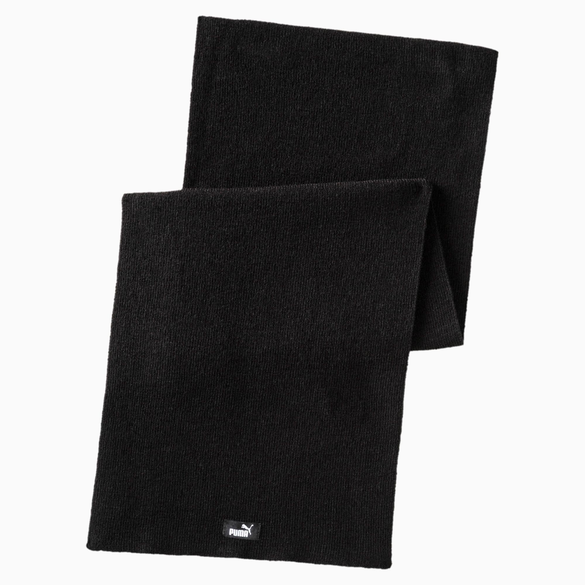 Écharpe en tricot, noir, vêtements