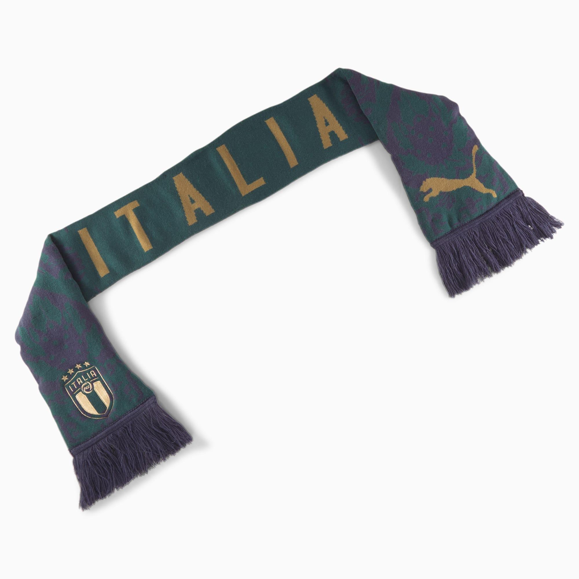 Écharpe italia football culture, vert/bleu, vêtements