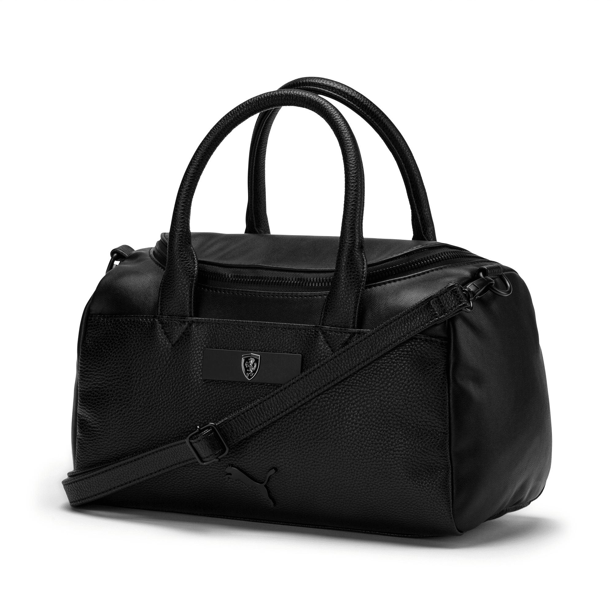 sac à main ferrari lifestyle pour femme, noir, accessoires