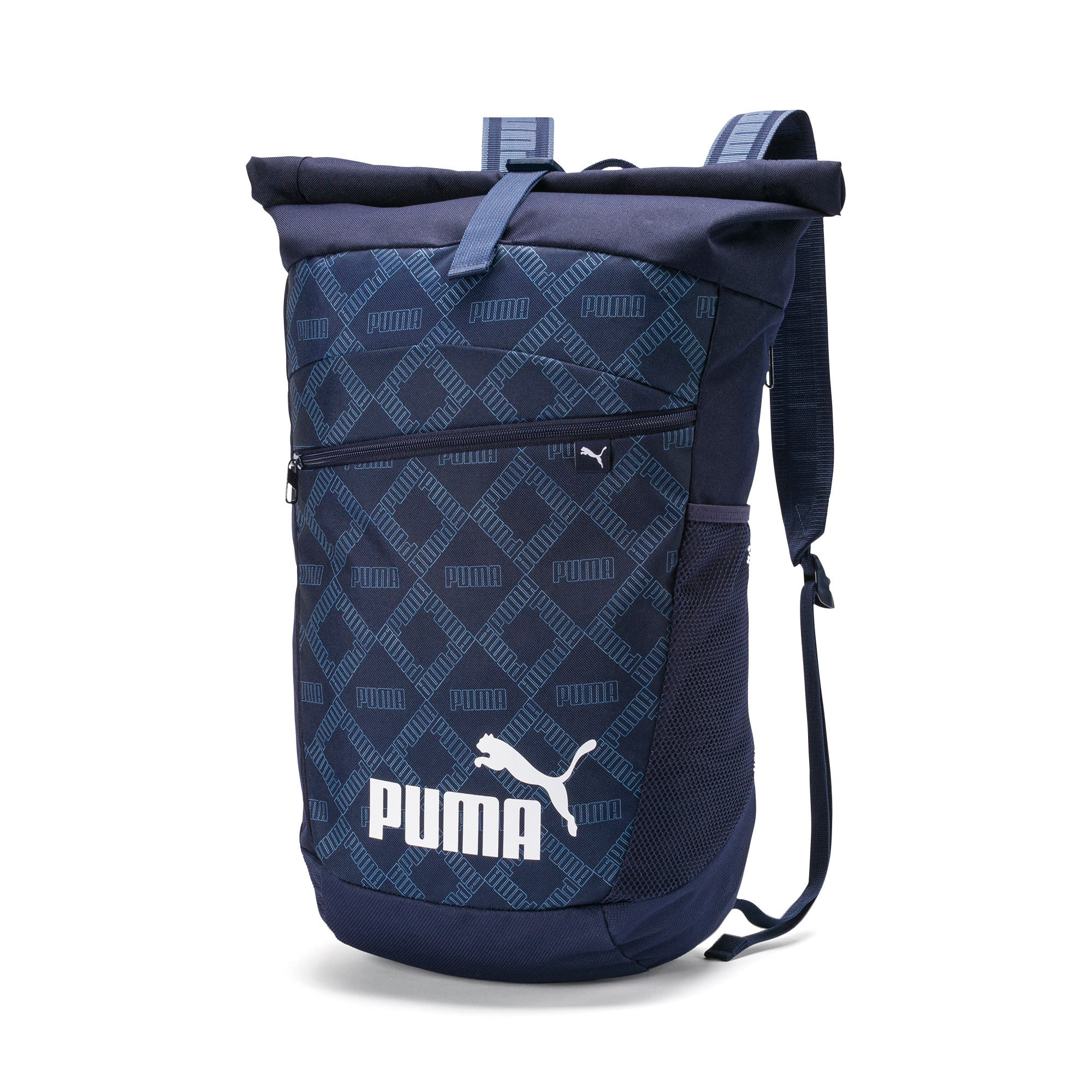 All-Over Printed Roll Top Backpack, Blauw/AOP | PUMA