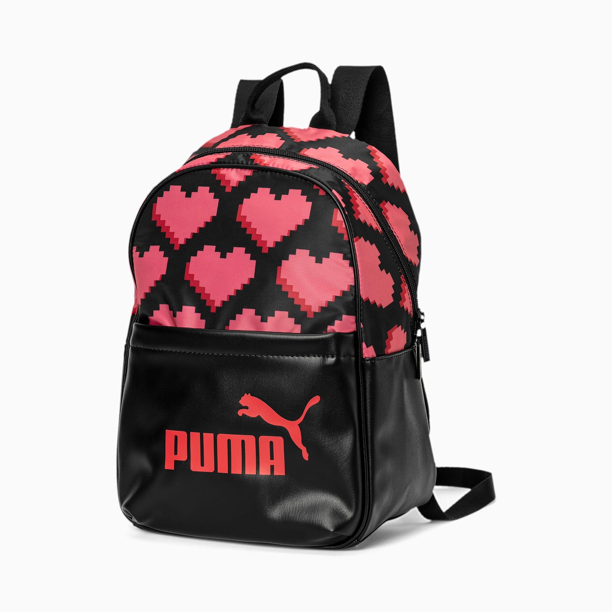 puma -  Core Up Damen Rucksack   Mit Aucun   Schwarz