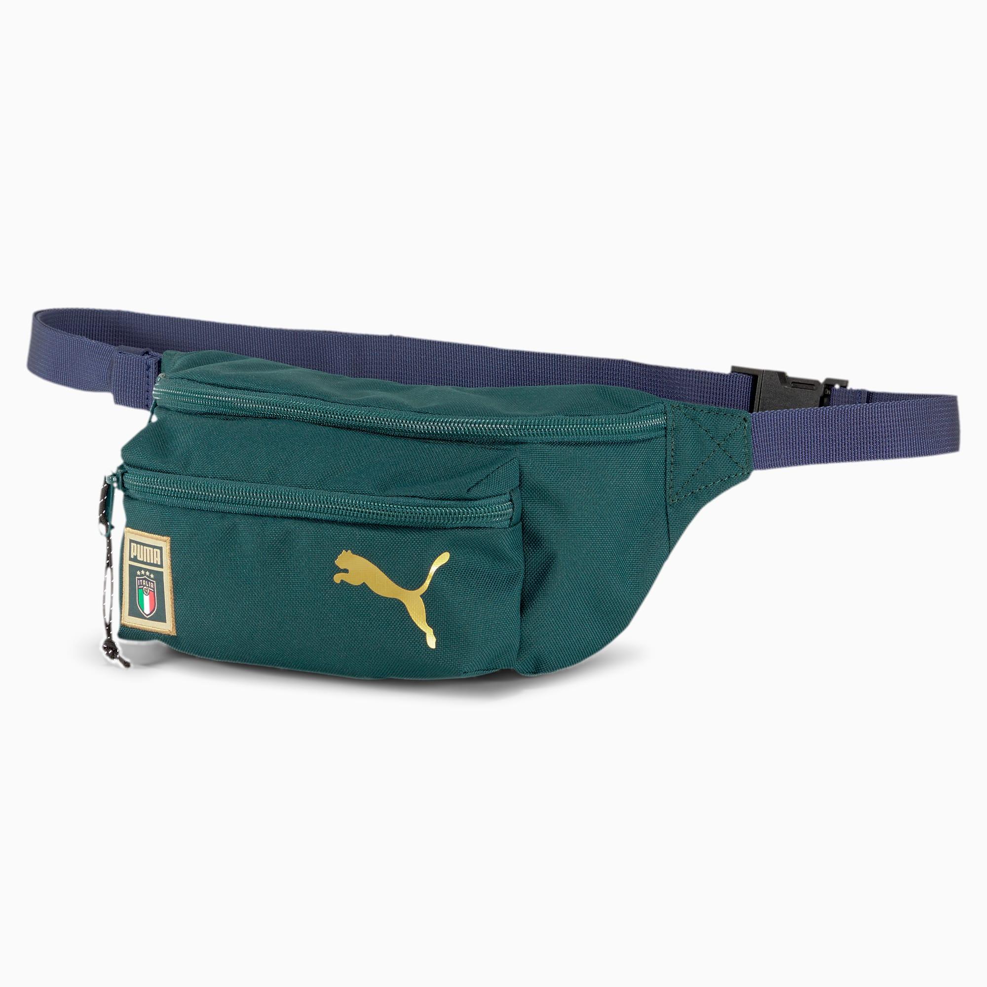 PUMA Italia DNA Lifestyle Waist Bag, Ponderosa Pine Peacoat, Akcesoria
