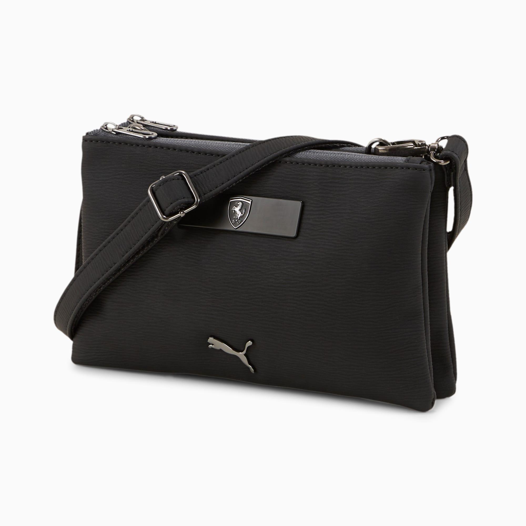 mini sac à main scuderia ferrari style pour femme, noir, accessoires