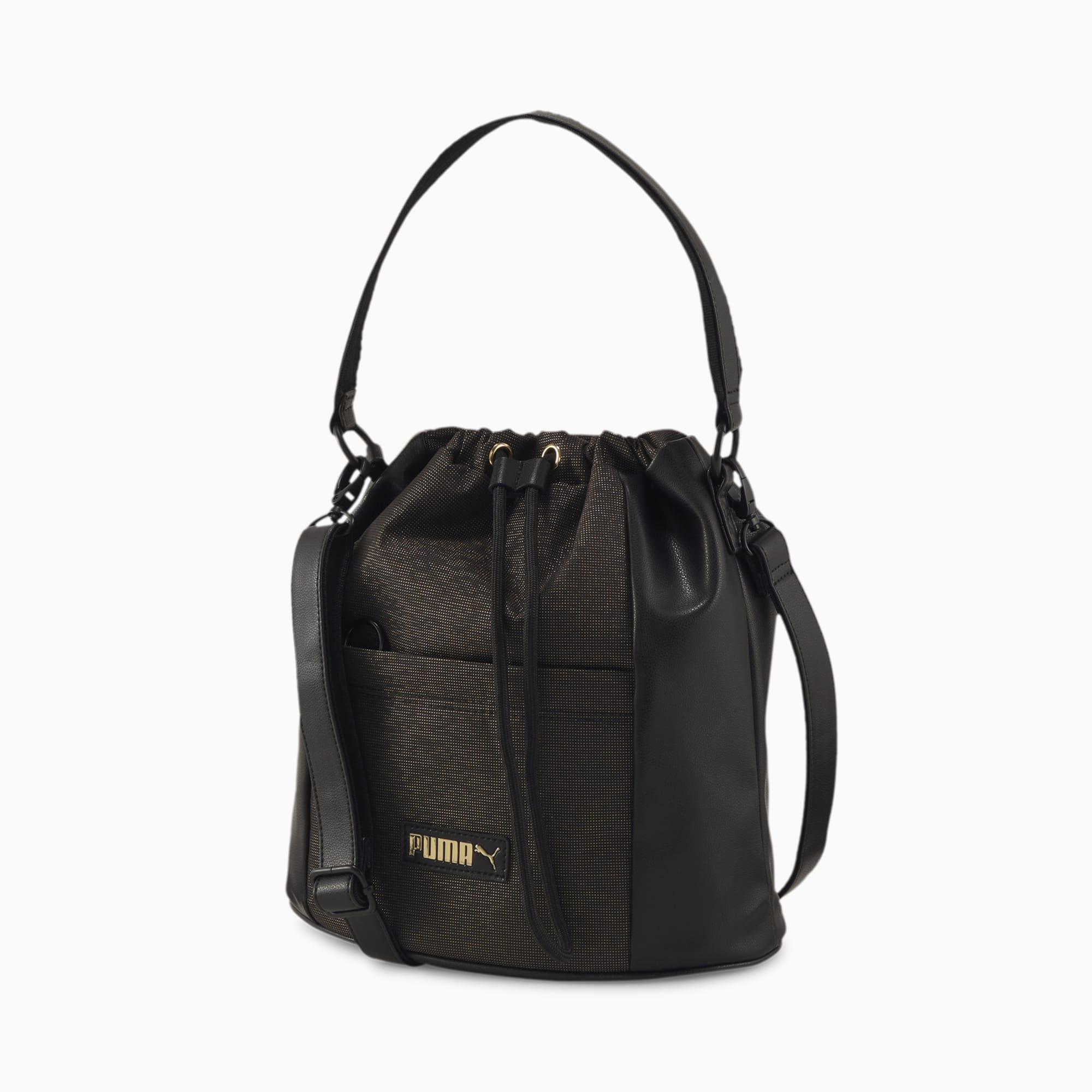 sac premium bucket pour femme, noir, accessoires