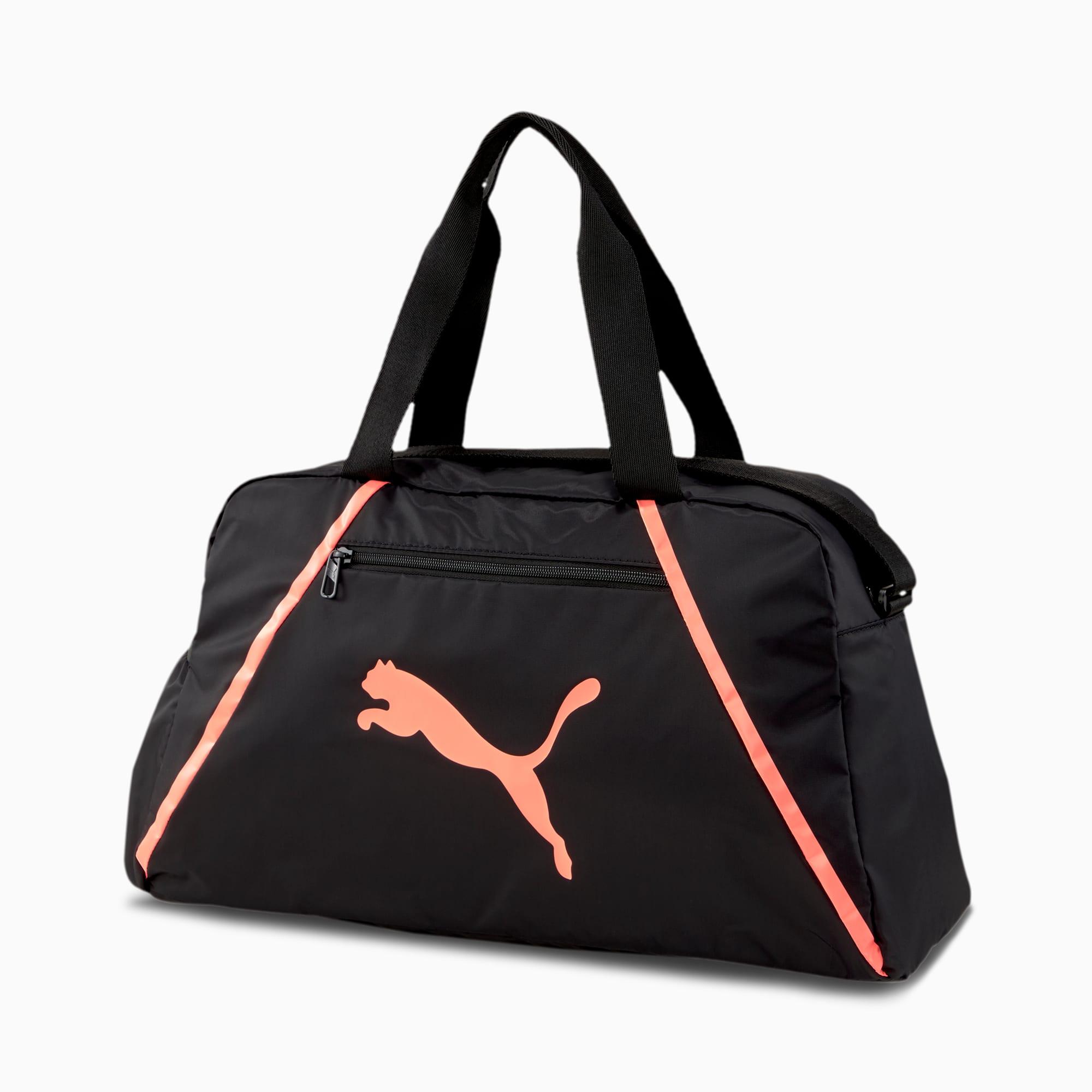 sac à anses essentials pearl pour femme, noir/rose, accessoires