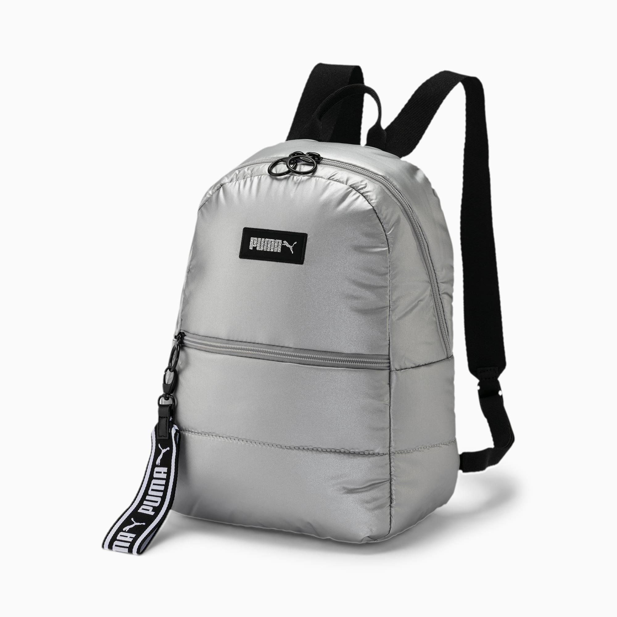 sac à dos puffa sports pour femme, argent, accessoires