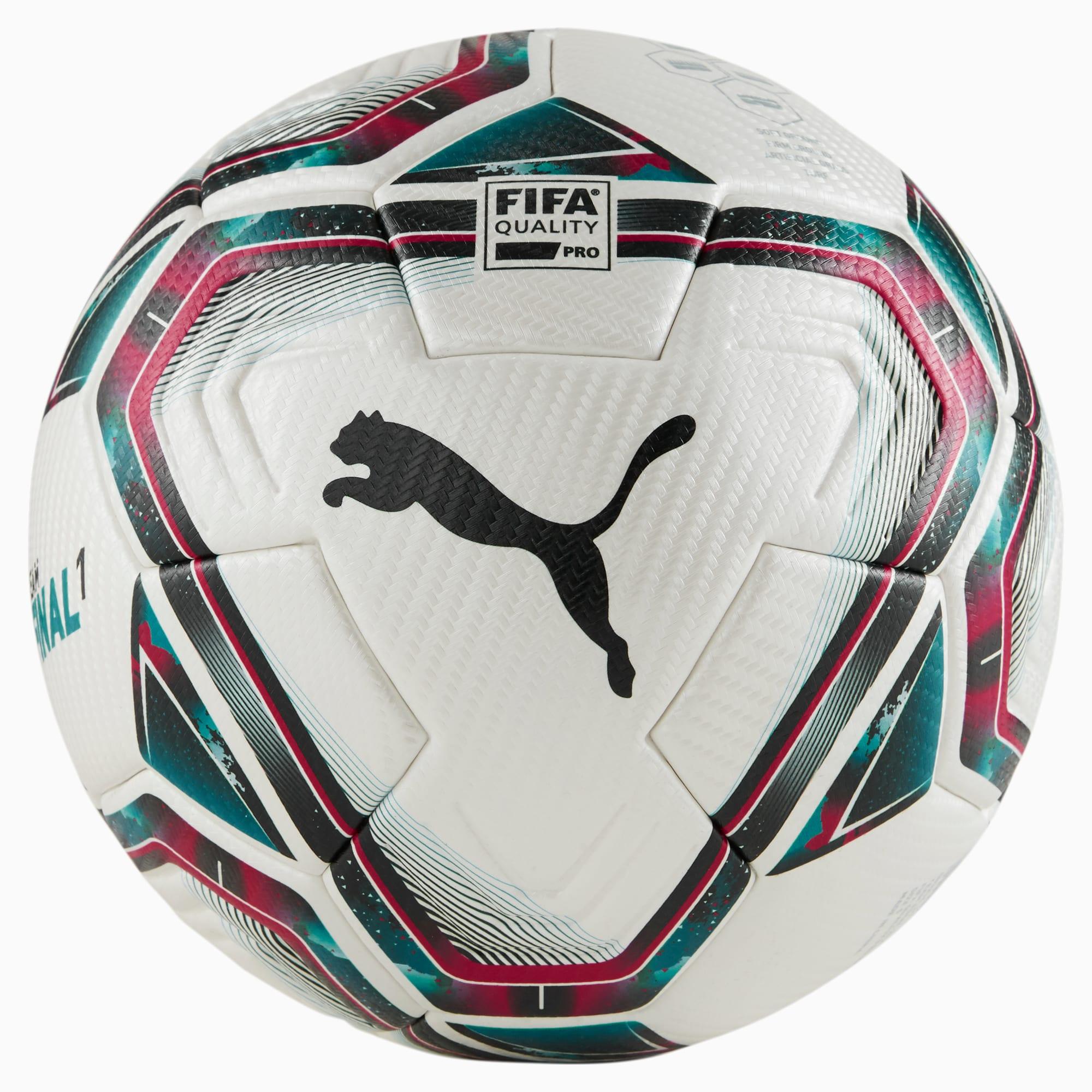 Ballon de foot FINAL 1 FIFA Quality Pro, /Bleu, Taille 5, Accessoires - PUMA - Modalova