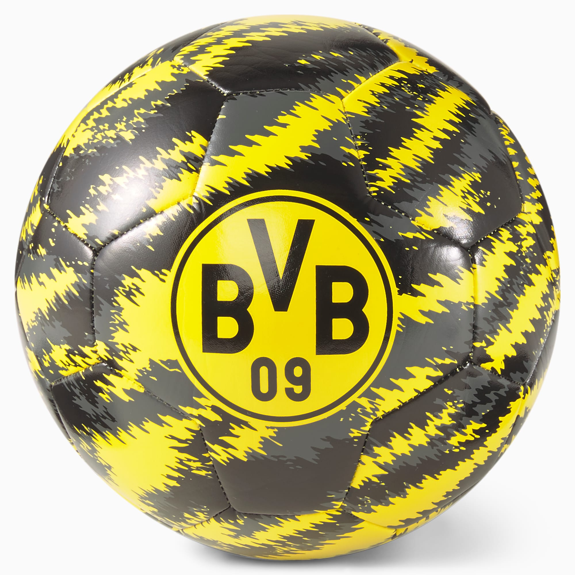 Pallone da calcio BVB Iconic Big Cat, Giallo/Nero, Taglia 3   PUMA