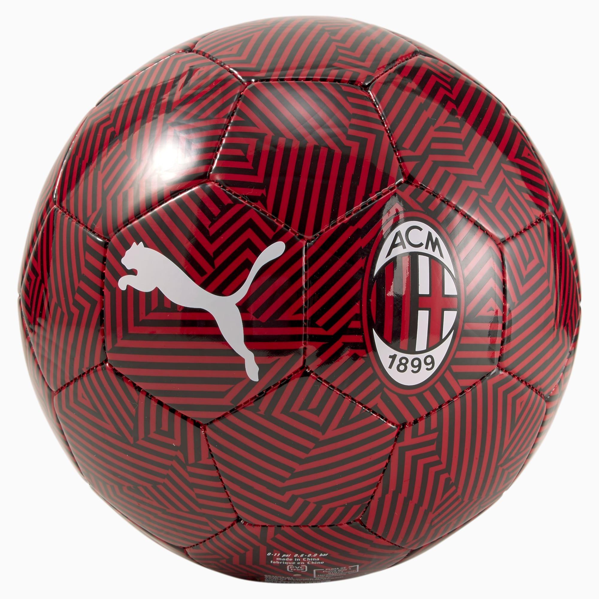 Pallone da training ACM FtblCore, Nero/Rosso, Taglia 4   PUMA