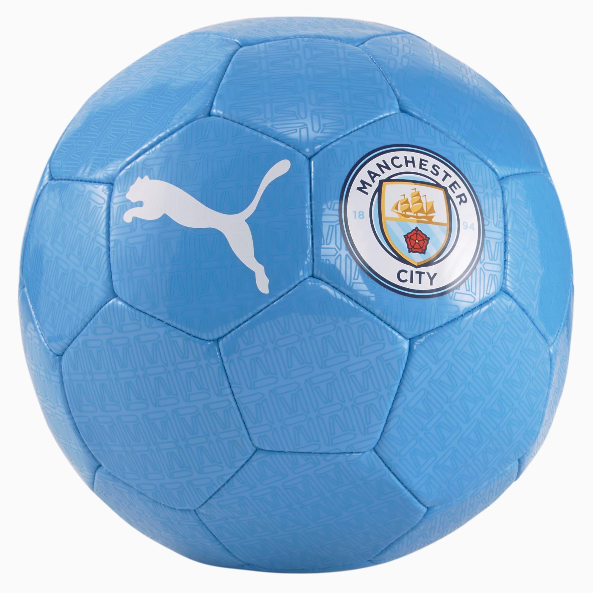 Pallone da calcio Man City FtblCore Fan, Blu/Bianco, Taglia 3   PUMA