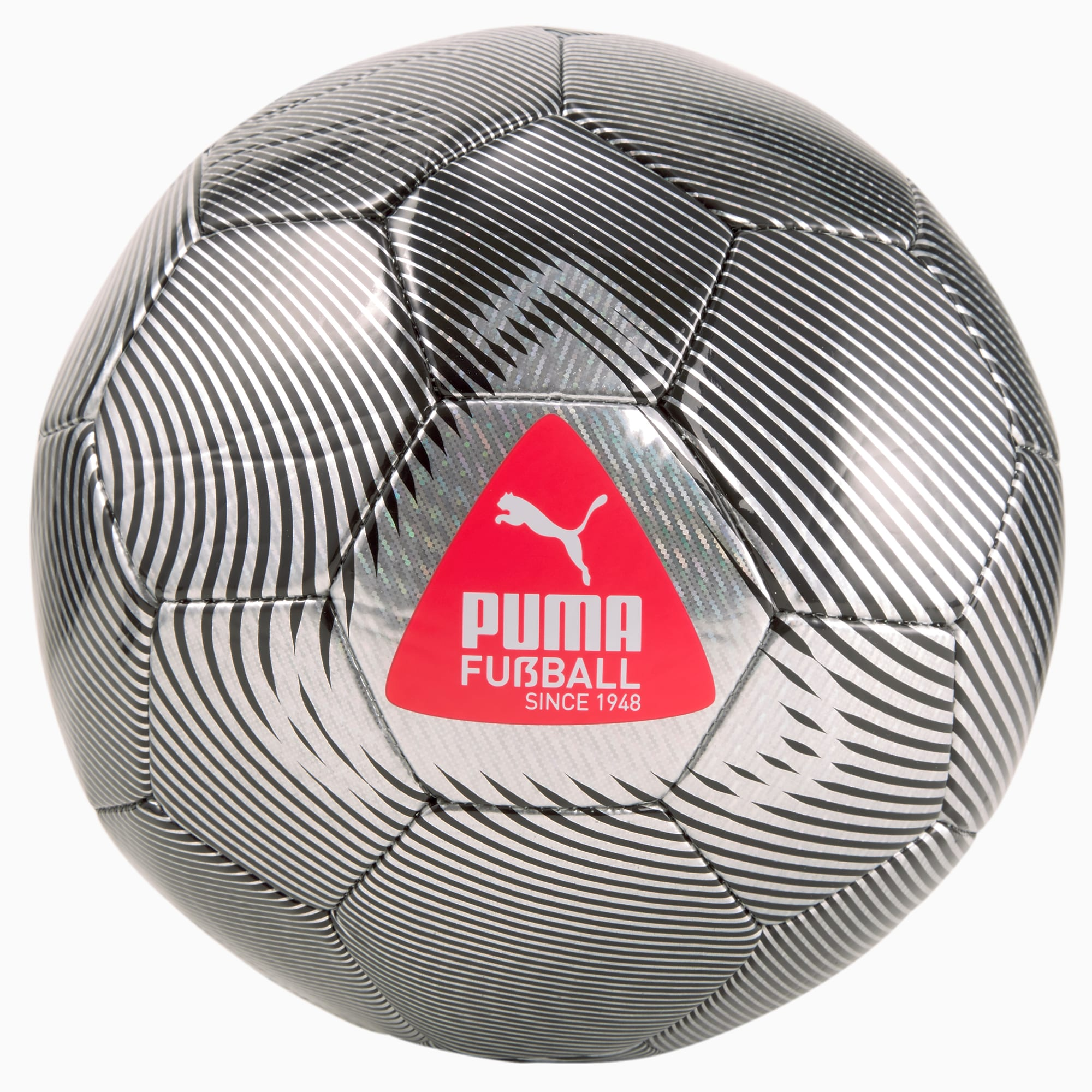 Pallone da calcio FUßBALL Cage, Nero/Argento, Taglia 4   PUMA