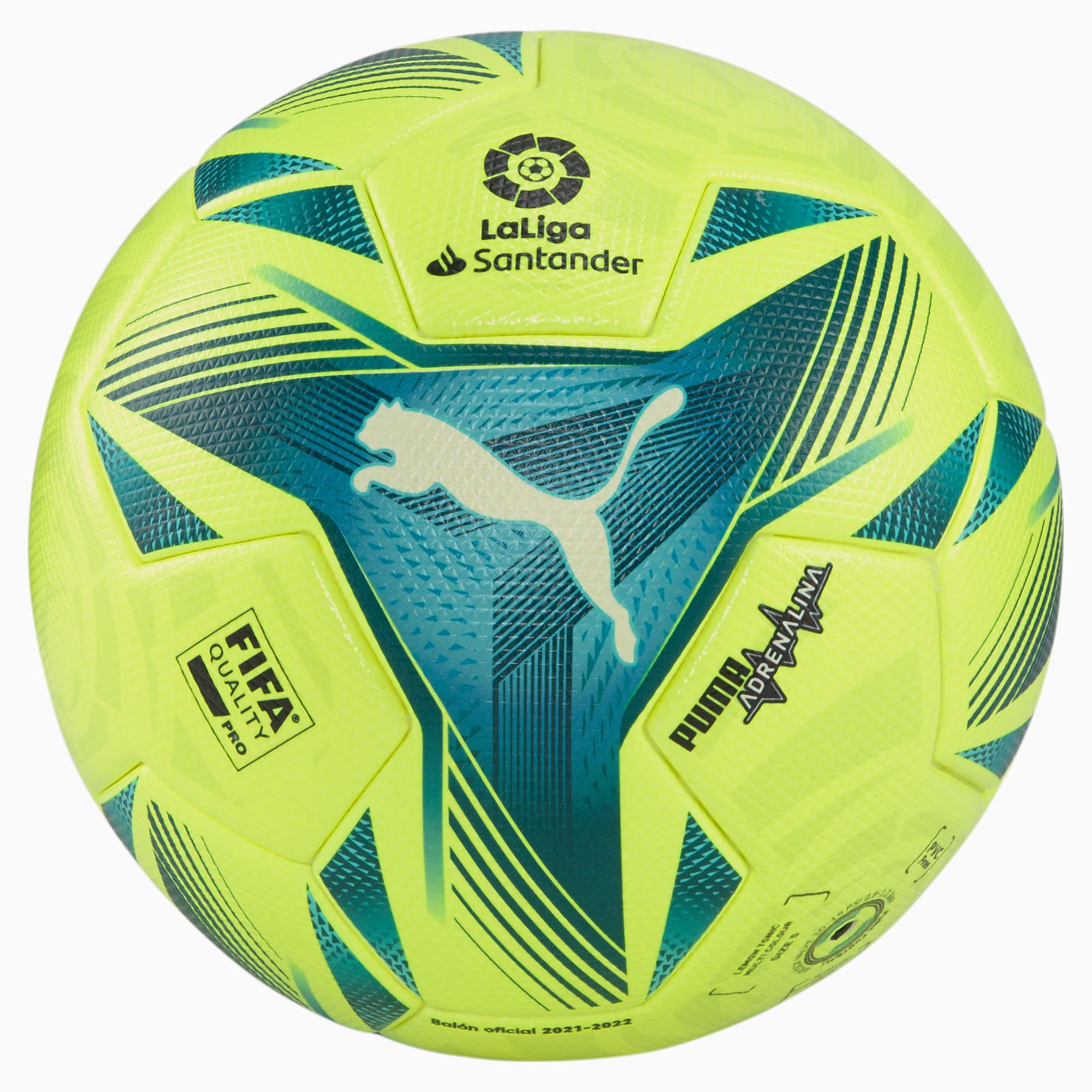 Pallone da calcio La Liga 1 Adrenalina FQP, Giallo, Taglia 5   PUMA