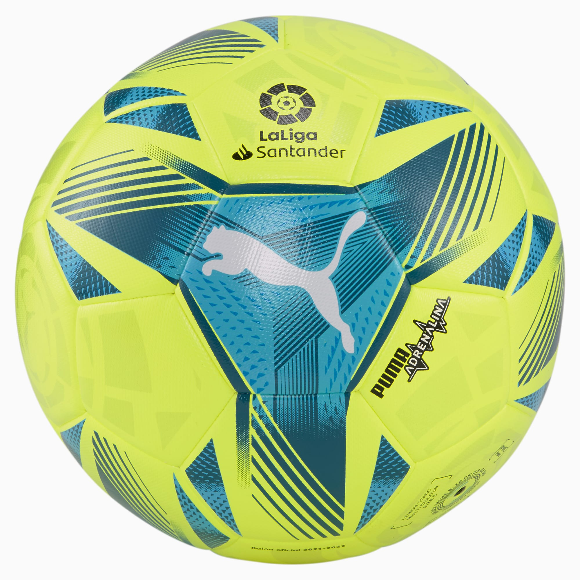 Pallone da calcio La Liga 1 Adrenalina Hybrid per uomo, Giallo, Taglia 4   PUMA