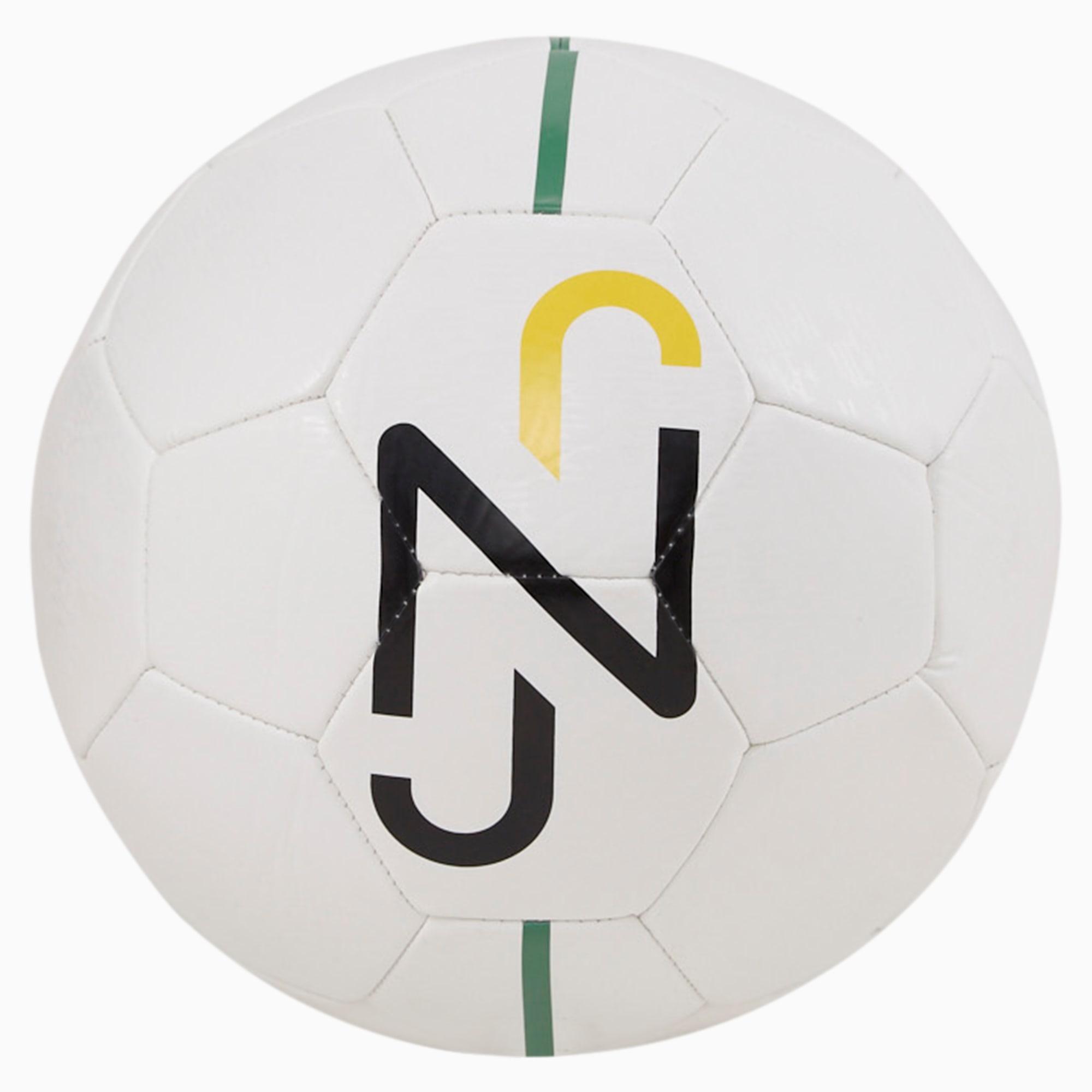 Pallone da calcio per allenamento Neymar Jr Fan, Verde/Nero/Giallo, Taglia 5   PUMA