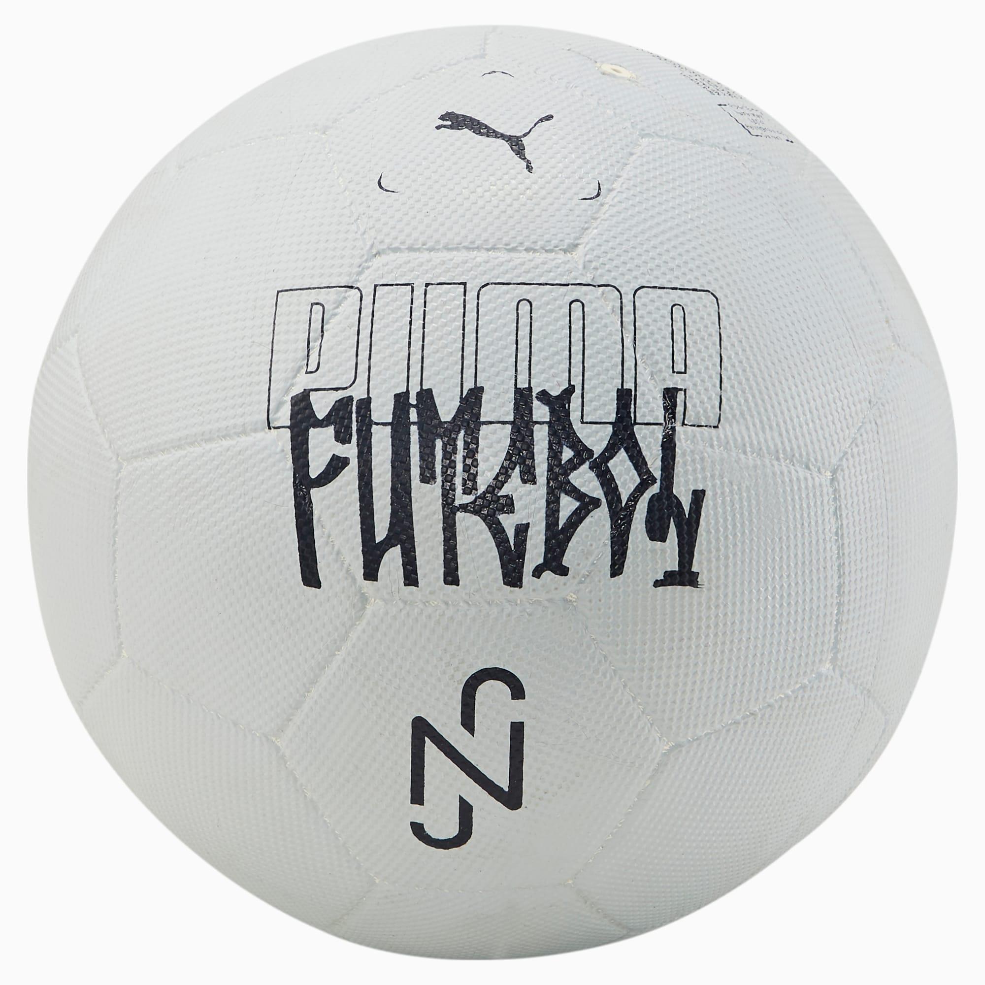 Pallone da calcio Neymar Jr Streetball per uomo, Nero/Bianco, Taglia 3   PUMA