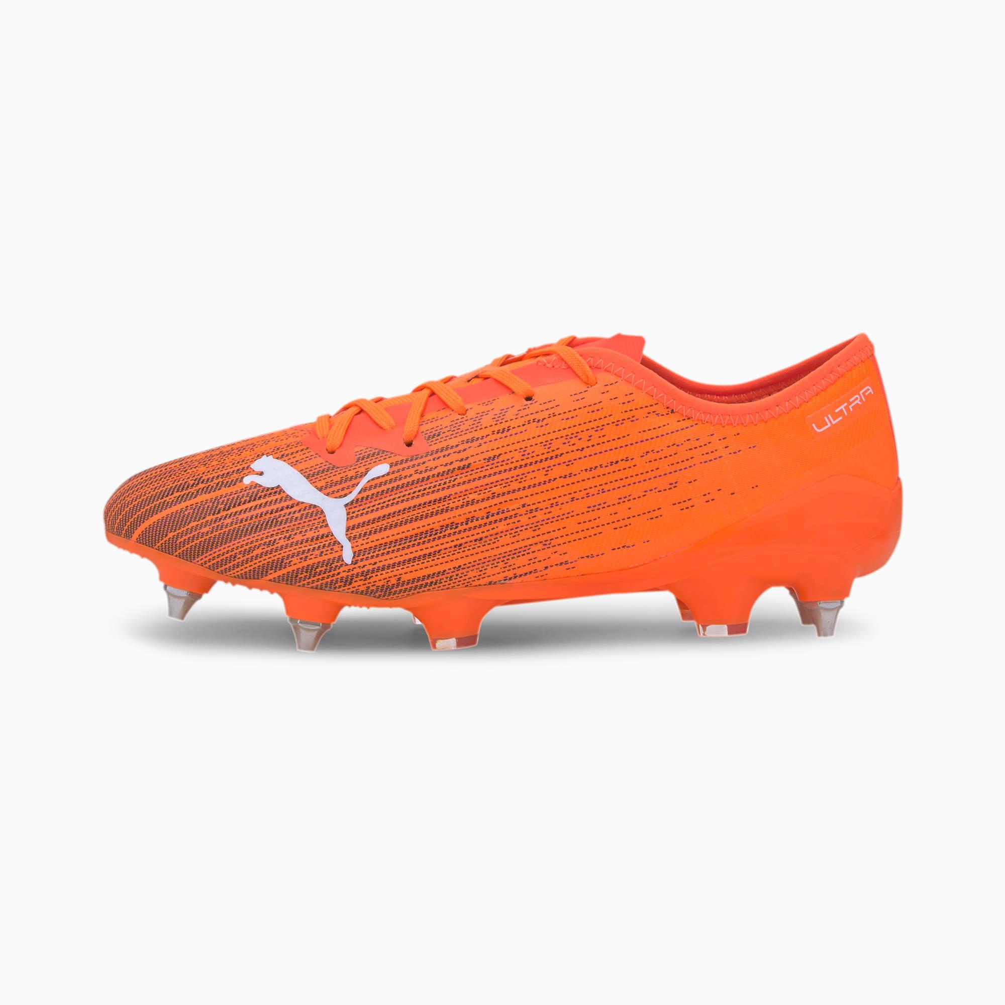 PUMA ULTRA 2.1 MxSG Herren Fußballschuhe   Mit Aucun   Orange/Schwarz   Größe: 37.5