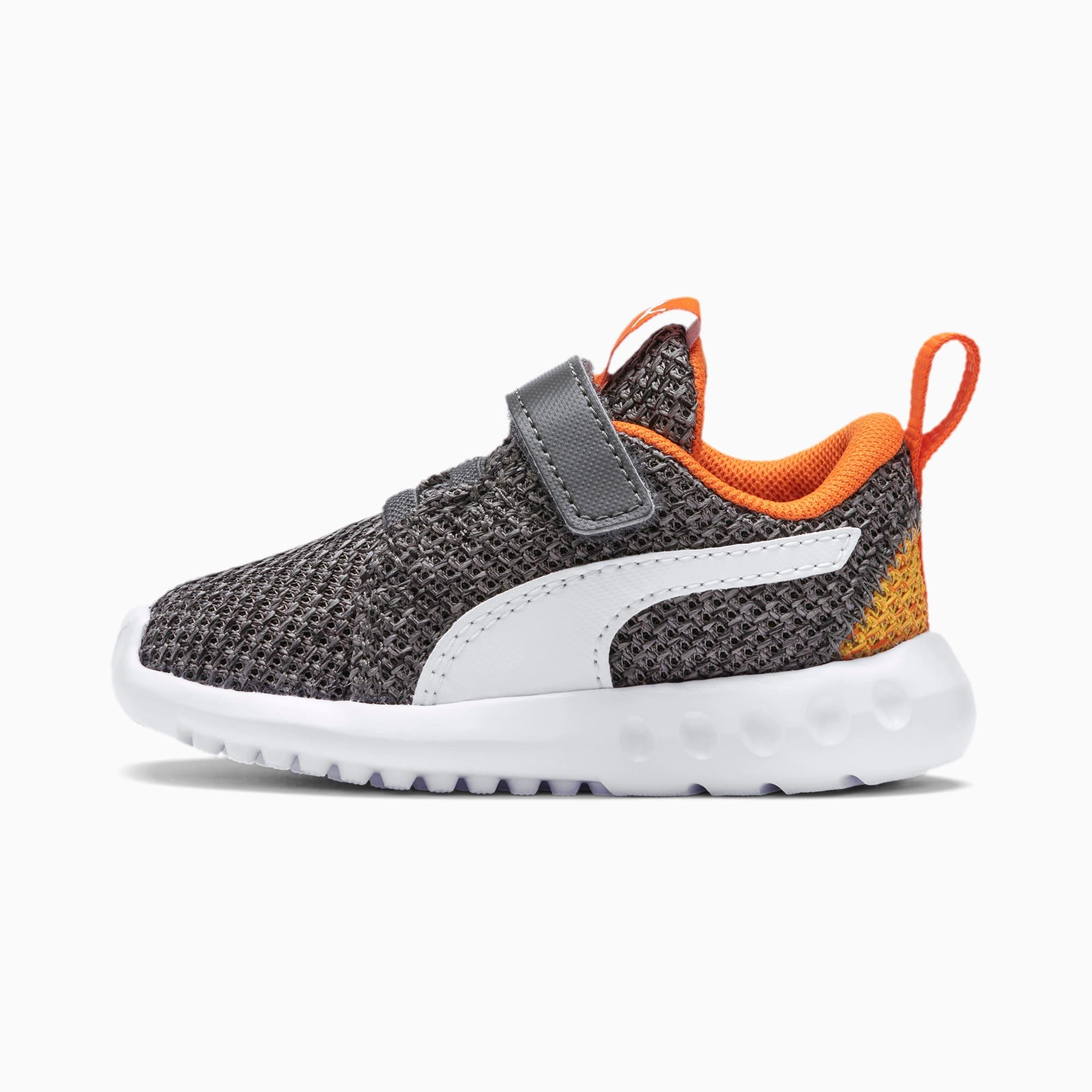 chaussure basket carson 2 bold knit pour bébé, gris/blanc, taille 23, chaussures