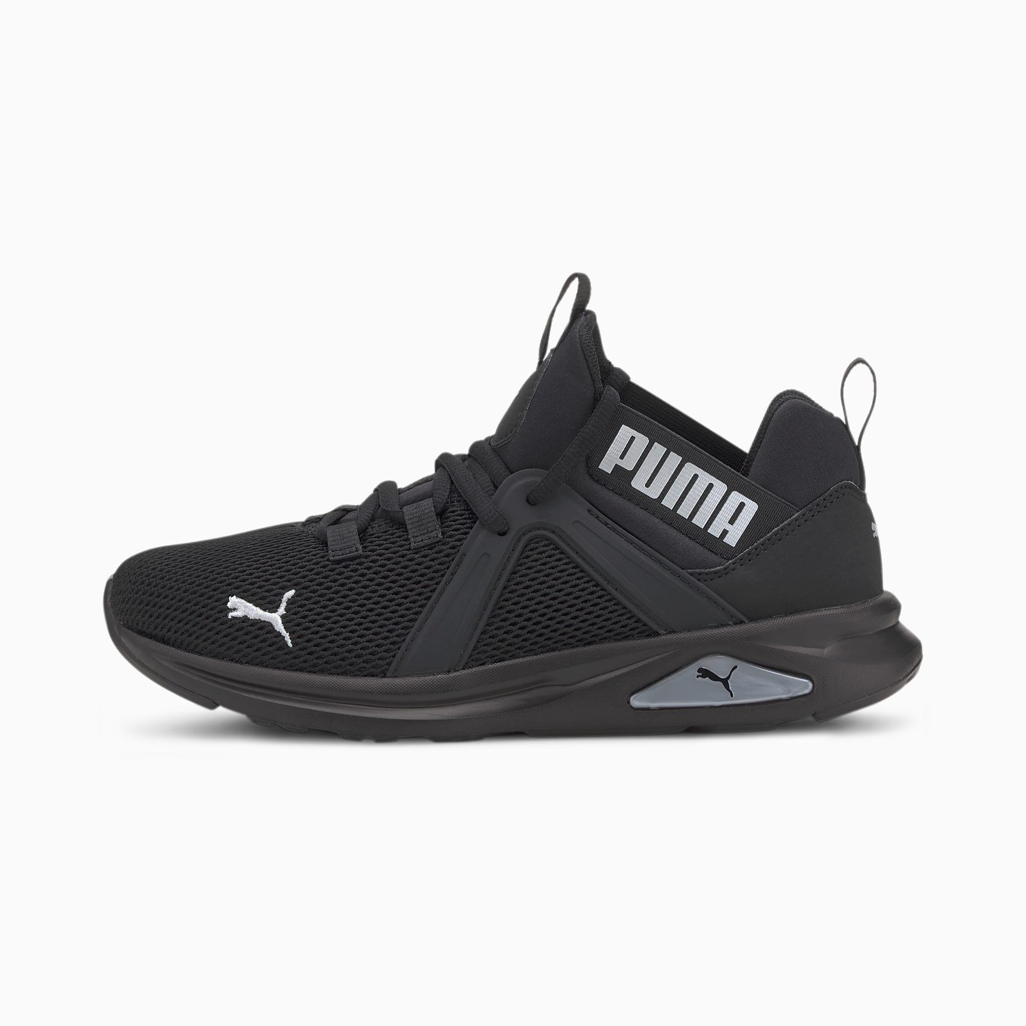 Zapatillas de Running Enzo 2 Para Mujer, Plateado/Negro, Talla 38   PUMA Mujeres