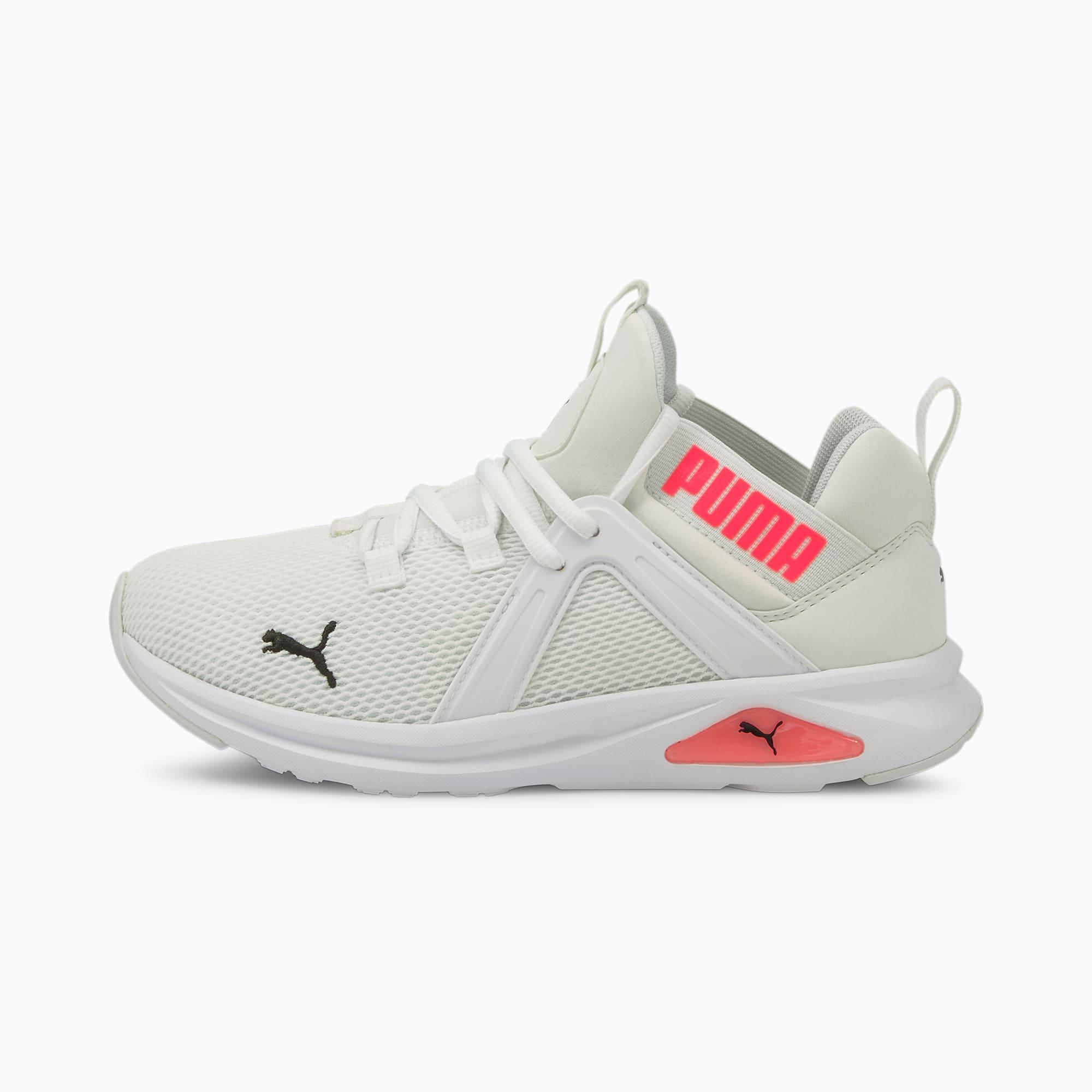 Zapatillas de Running Enzo 2 Para Mujer, Blanco/Rosado, Talla 37.5   PUMA Mujeres