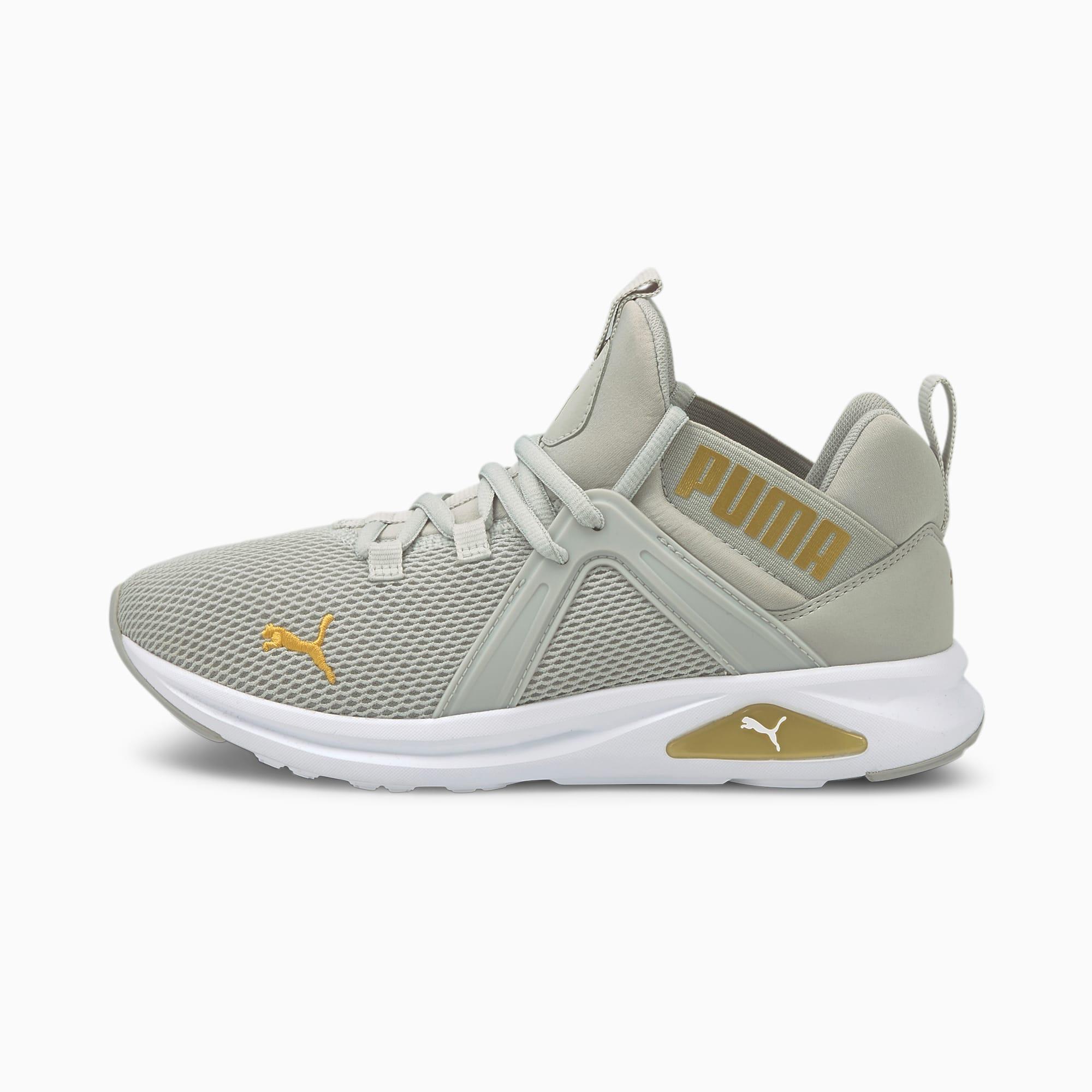Zapatillas de Running Enzo 2 Para Mujer, Oro/Gris, Talla 38.5   PUMA Mujeres