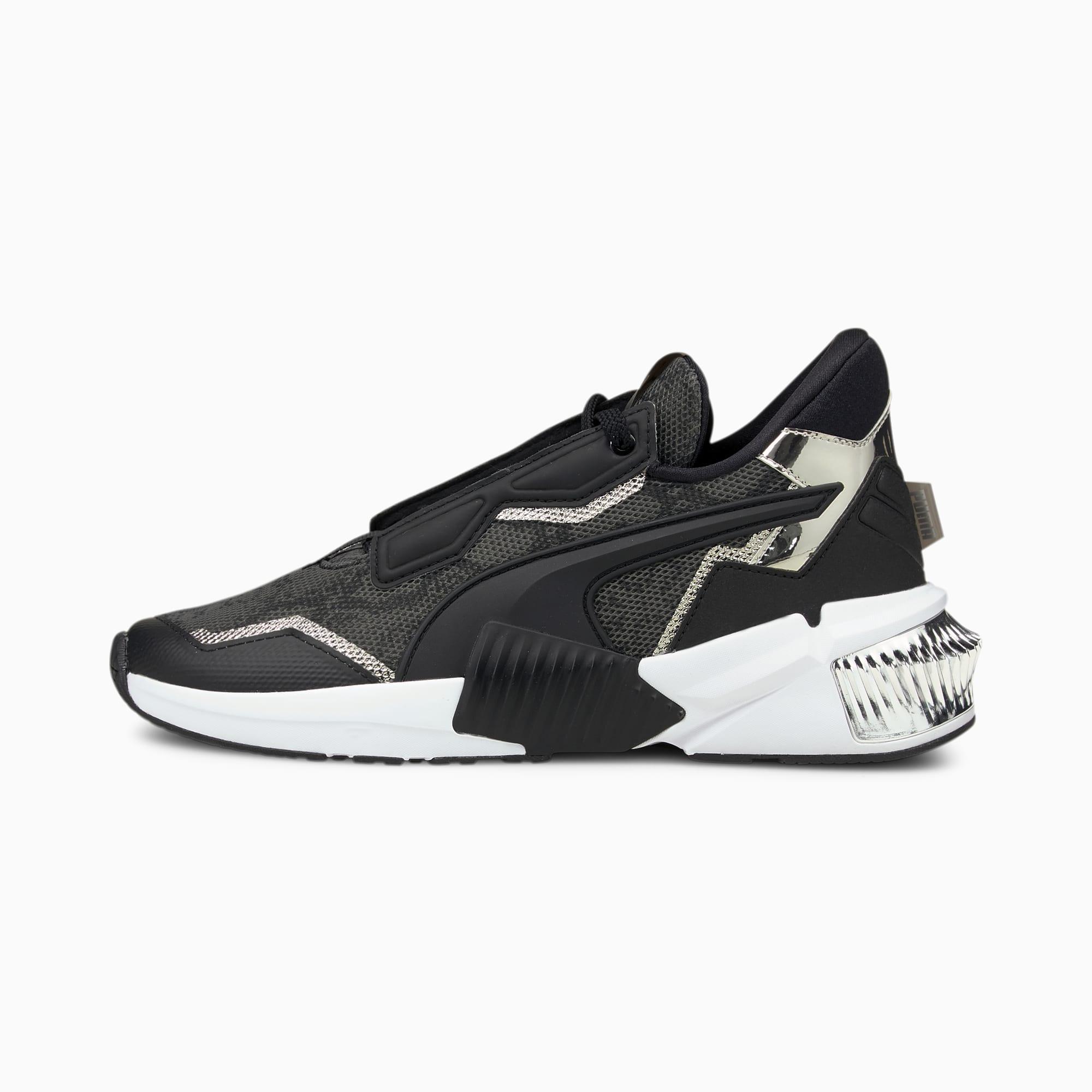PUMA Chaussures de sport Provoke XT Untamed femme, Noir/Argent, Taille 42, Chaussures