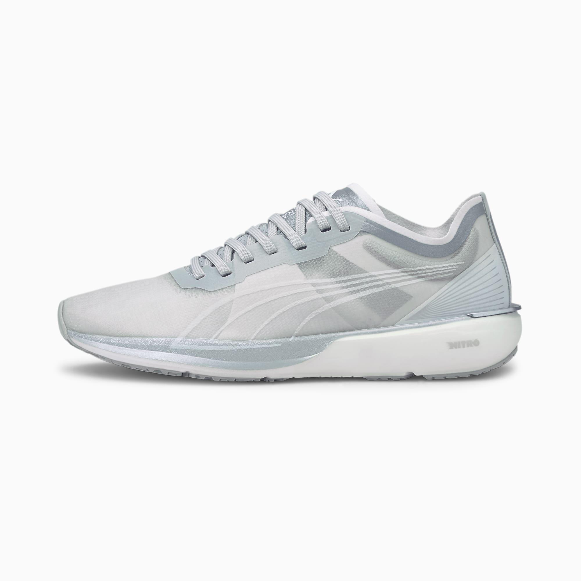 Zapatillas de Running Para Mujer Liberate Nitro Cooladapt, Plateado/Gris/Blanco, Talla 40   PUMA Mujeres