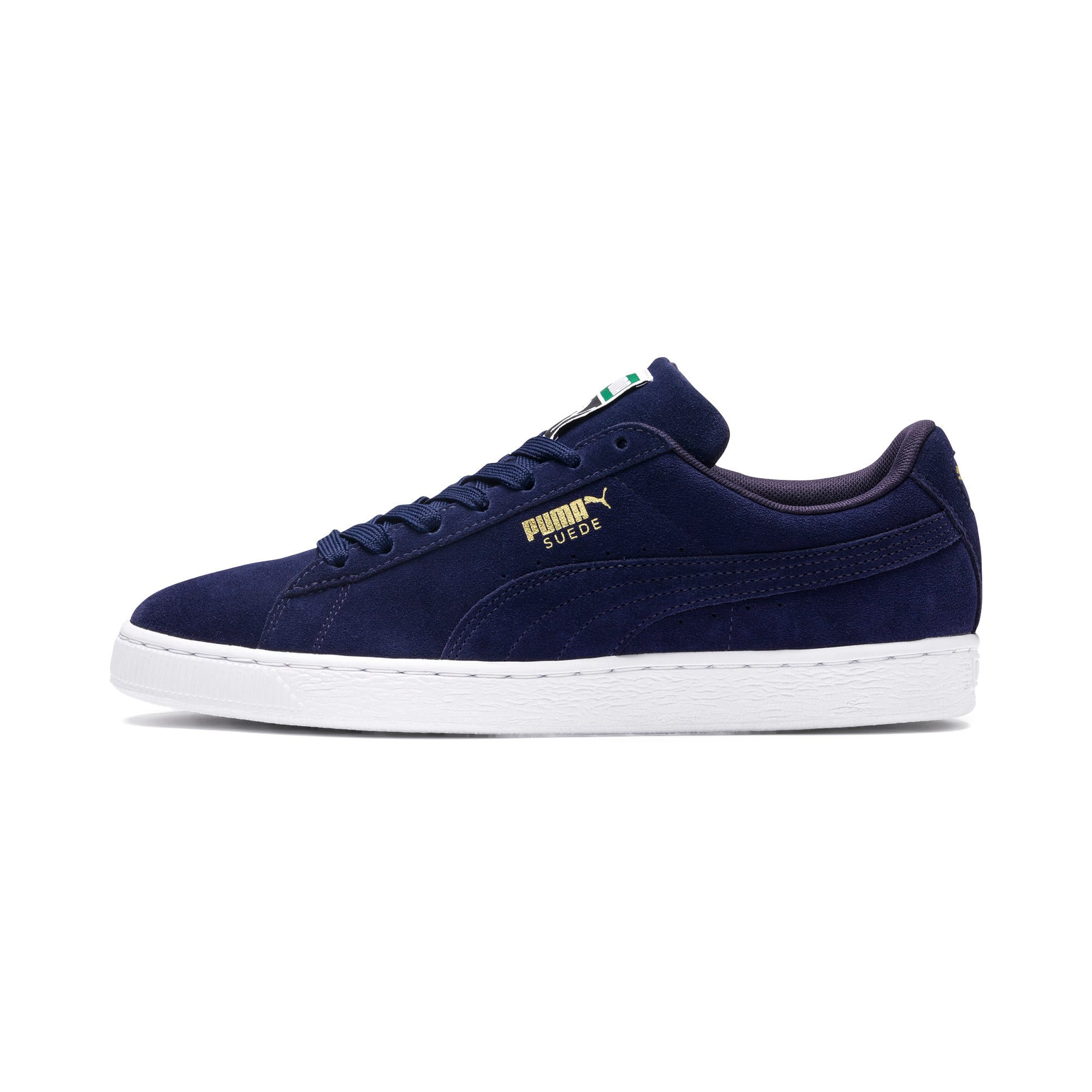 Suede Classic+ Trainers, Blauw/Wit, Maat 46   PUMA