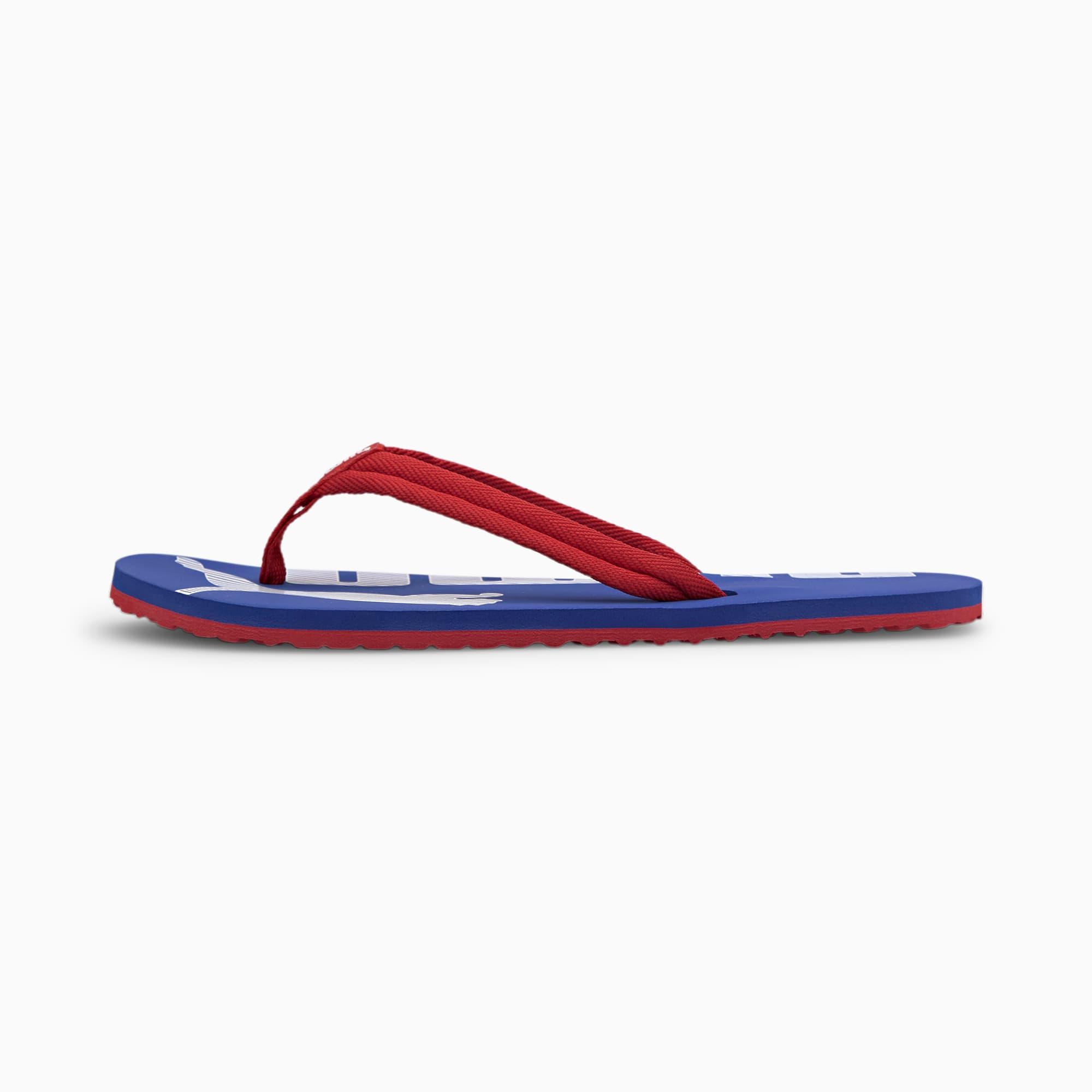 puma -  Epic Flip v2 Sandalen   Mit Aucun   Rot/Blau   Größe: 40.5
