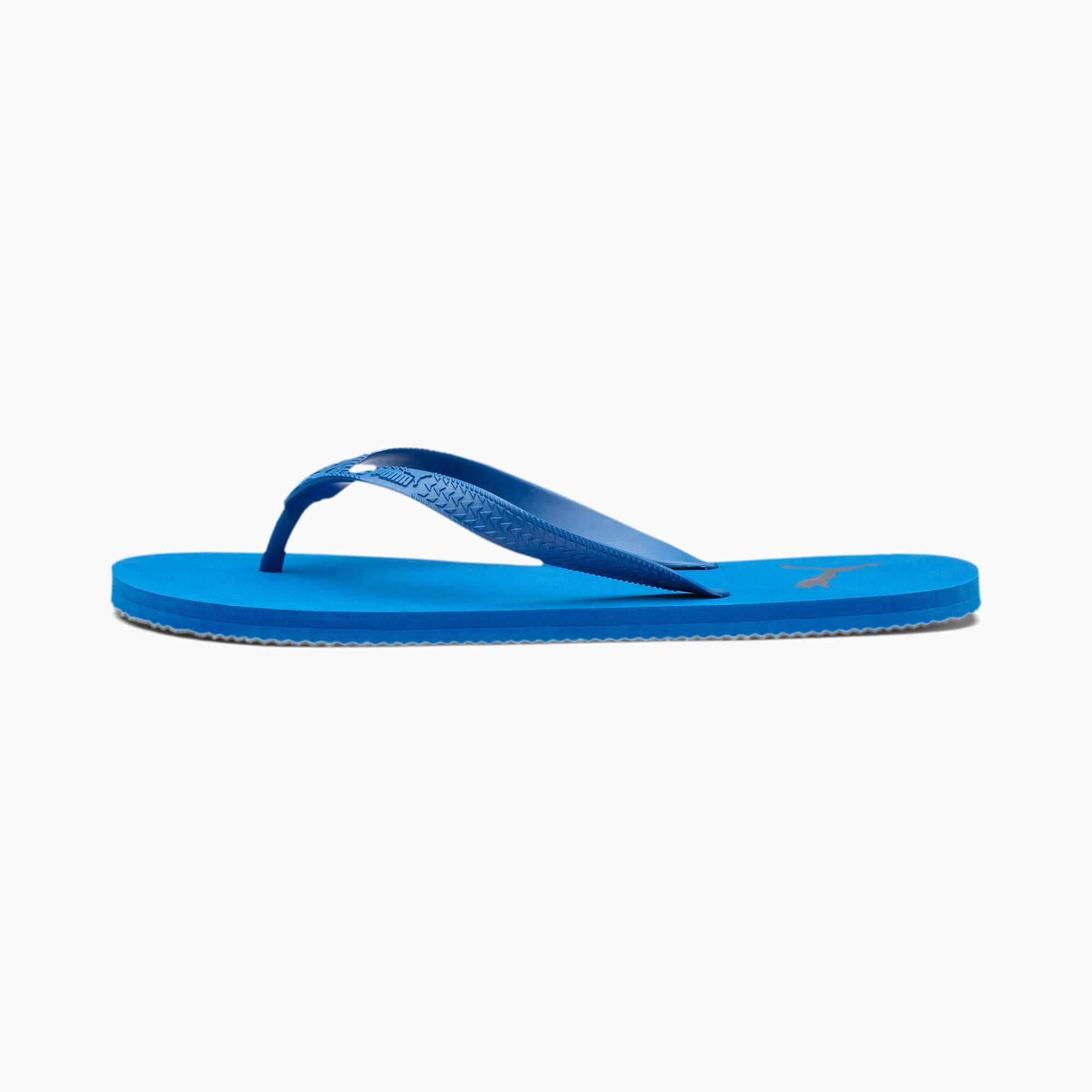 puma -  First Flip Sandalen   Mit Aucun   Blau   Größe: 47