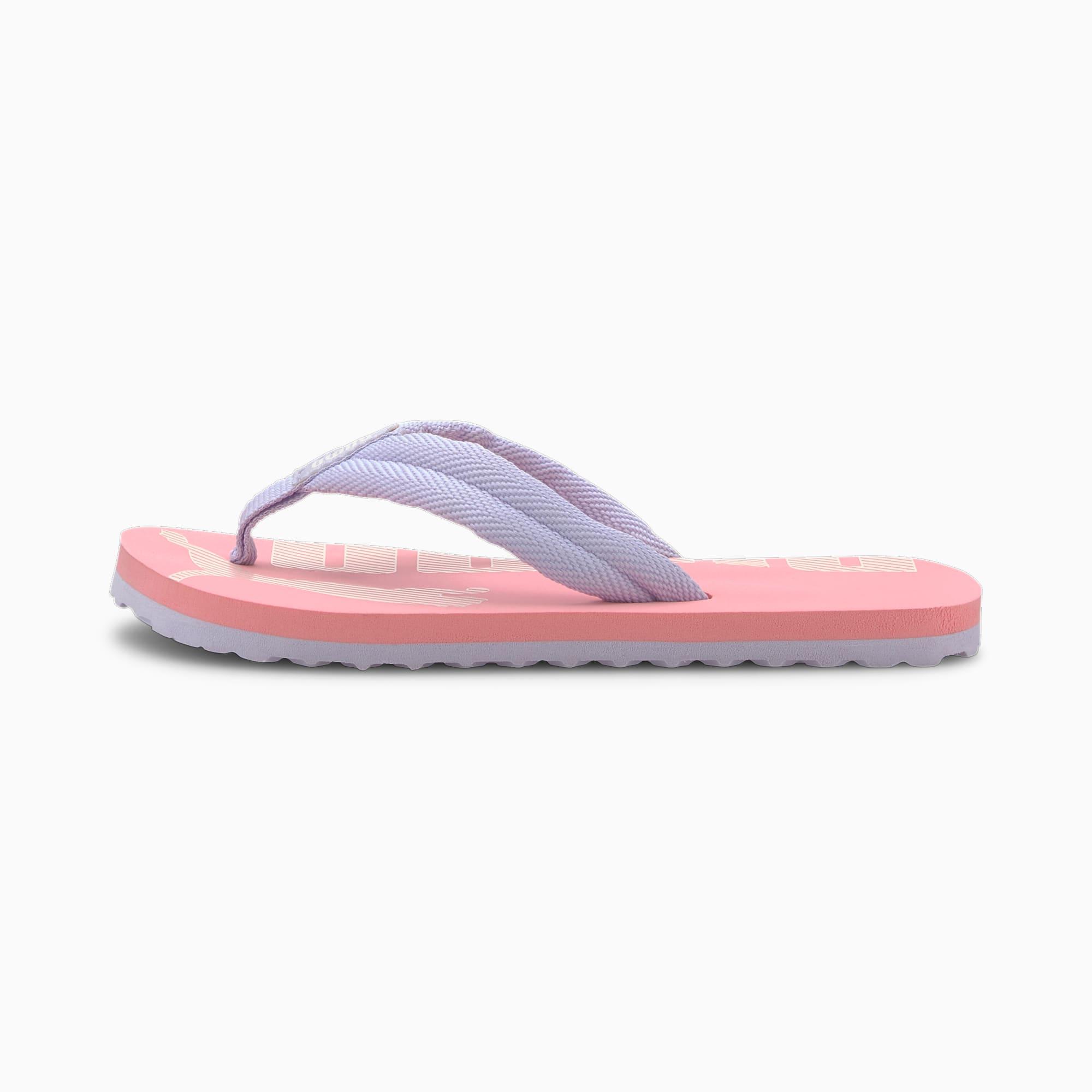 PUMA Epic Flip V2 Preschool Kids' Trainers, Peony/Purple Heather, size 11, Shoes