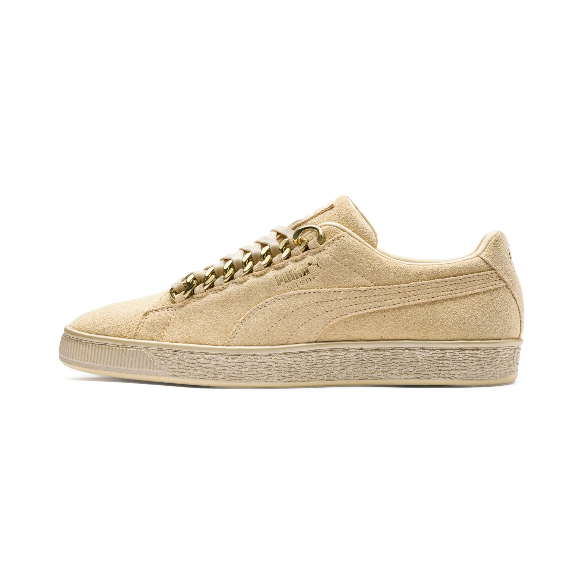 Suede Classic X-chains Trainers, Geel/Goud, Maat 47   PUMA