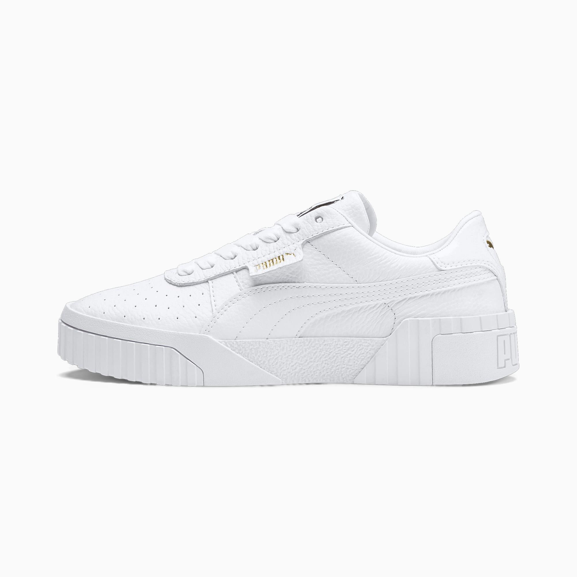 Image of PUMA Cali Damen Sneaker Schuhe | Mit Aucun | Weiß | Größe: 37