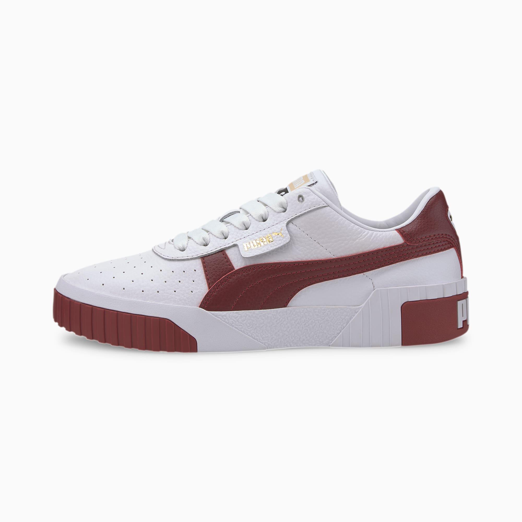 Image of PUMA Cali Damen Sneaker Schuhe   Mit Aucun   Weiß   Größe: 35.5