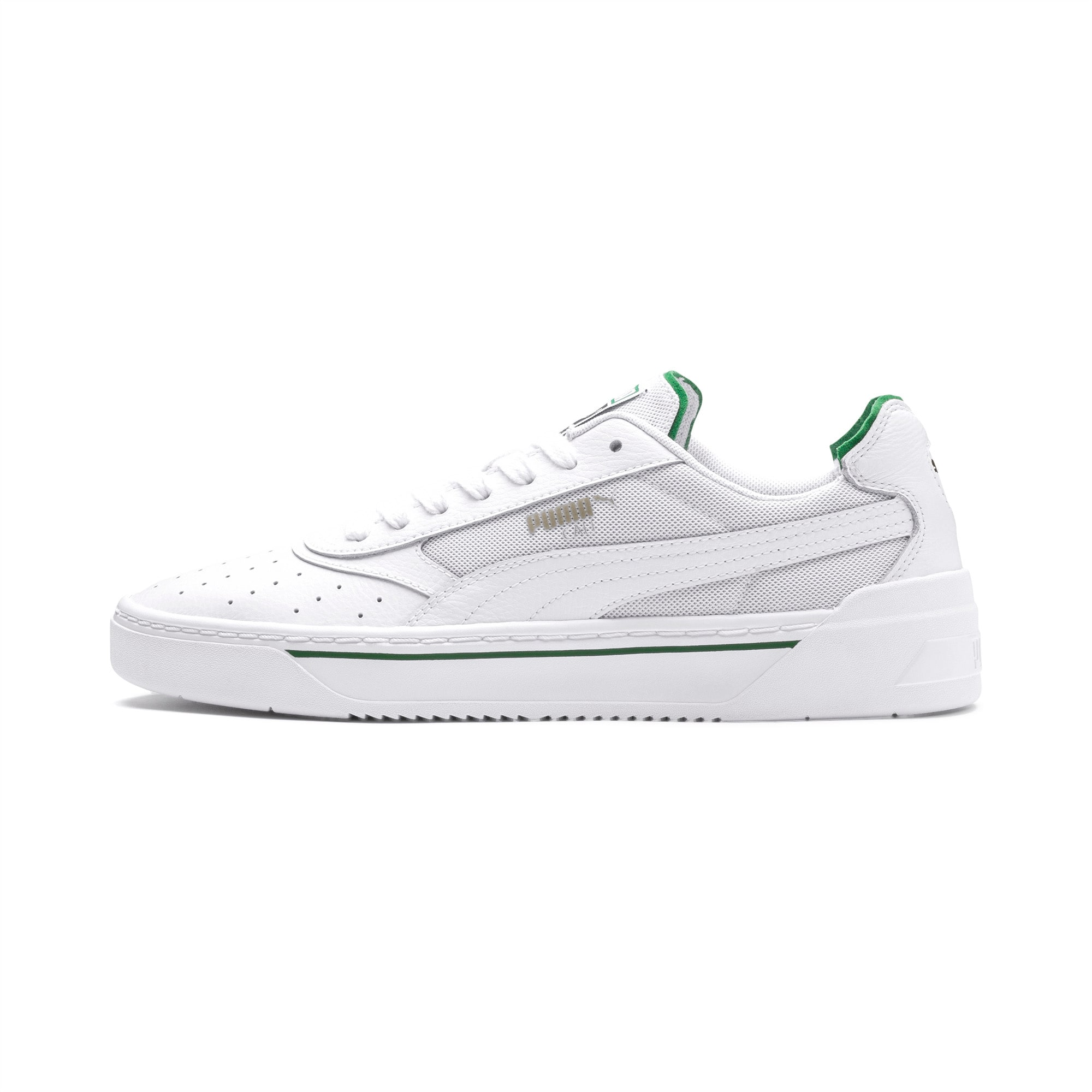 PUMA Tenisówki Cali-0 Biały Zielony, rozmiar 39, Obuwie