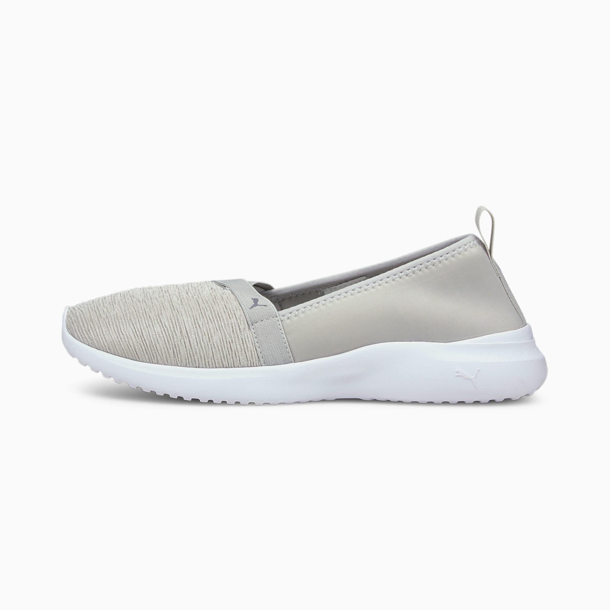 Chaussure Basket Adelina Slip-On, Gris, Taille 38.5, Chaussures - PUMA - Modalova