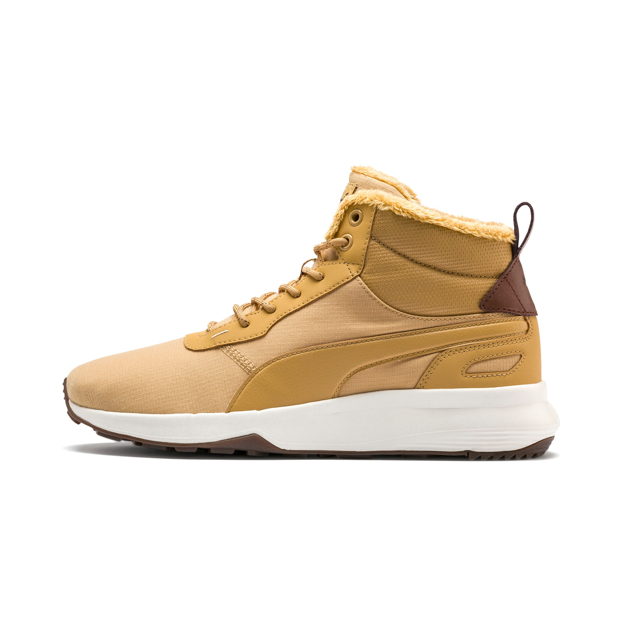 PUMA Chaussure Bottine Activate Mid-Cut, Marron, Taille 38, Chaussures
