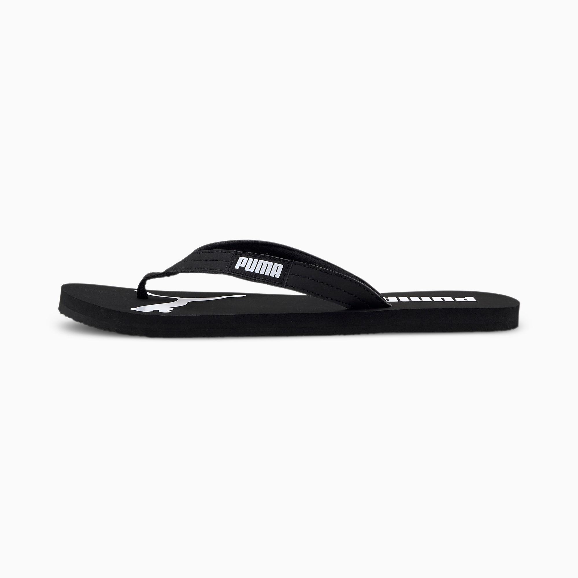 puma -  Cosy Flip Sandalen   Mit Aucun   Schwarz/Weiß   Größe: 35.5