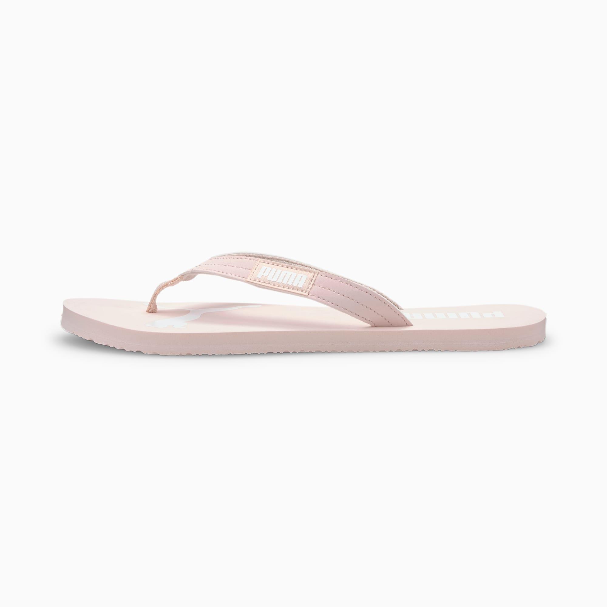 puma -  Cosy Flip Sandalen   Mit Aucun   Weiß/Rosa   Größe: 40.5