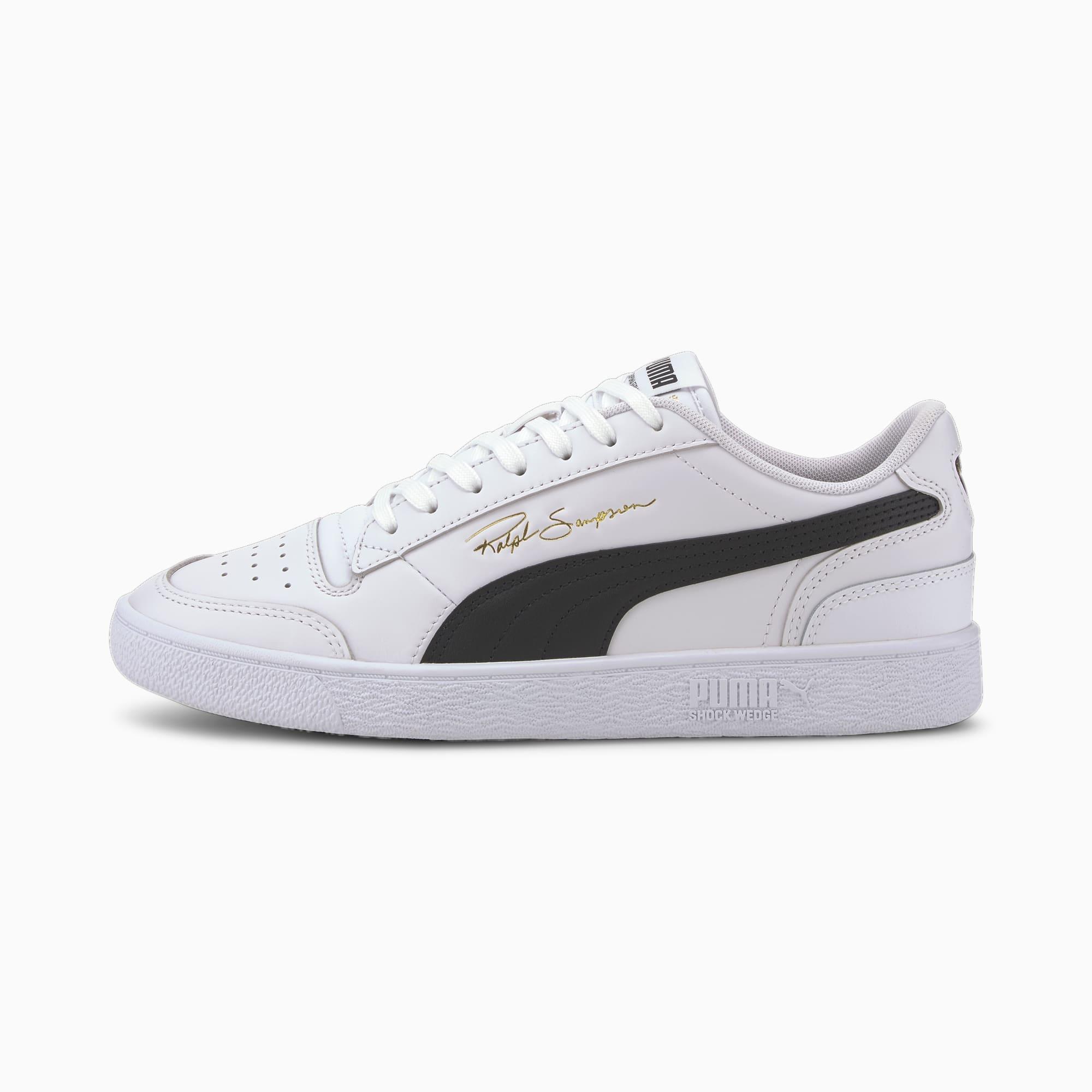 PUMA x Ralph Sampson Lo Sneaker Schuhe | Mit Aucun | Weiß/Schwarz | Größe: 39