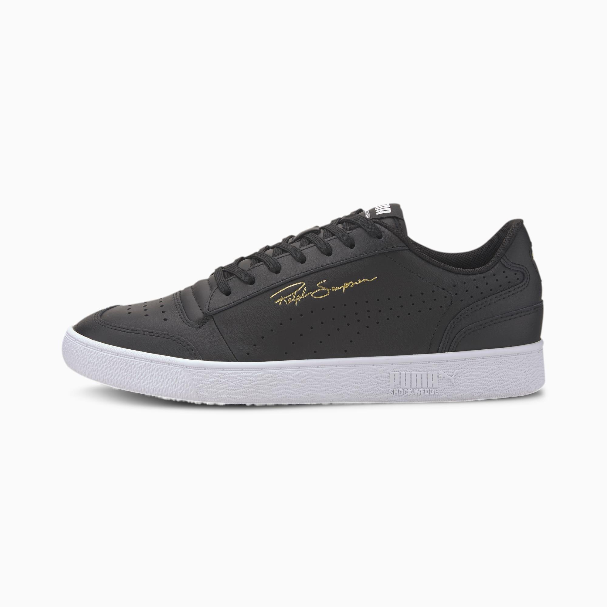 PUMA Ralph Sampson Lo Sneaker Schuhe   Mit Aucun   Schwarz/Weiß   Größe: 44.5