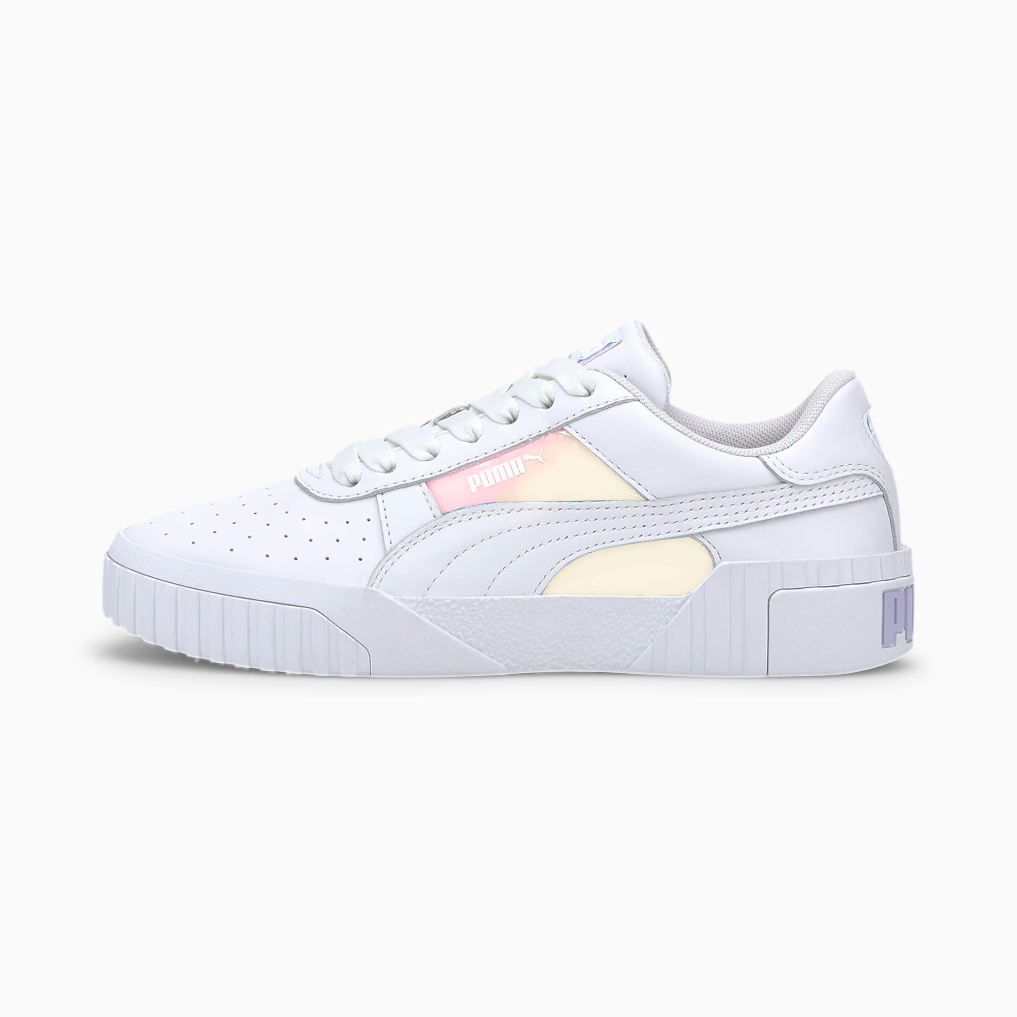 puma -  Cali Glow Damen Sneaker Schuhe | Weiß | Größe: 40.5