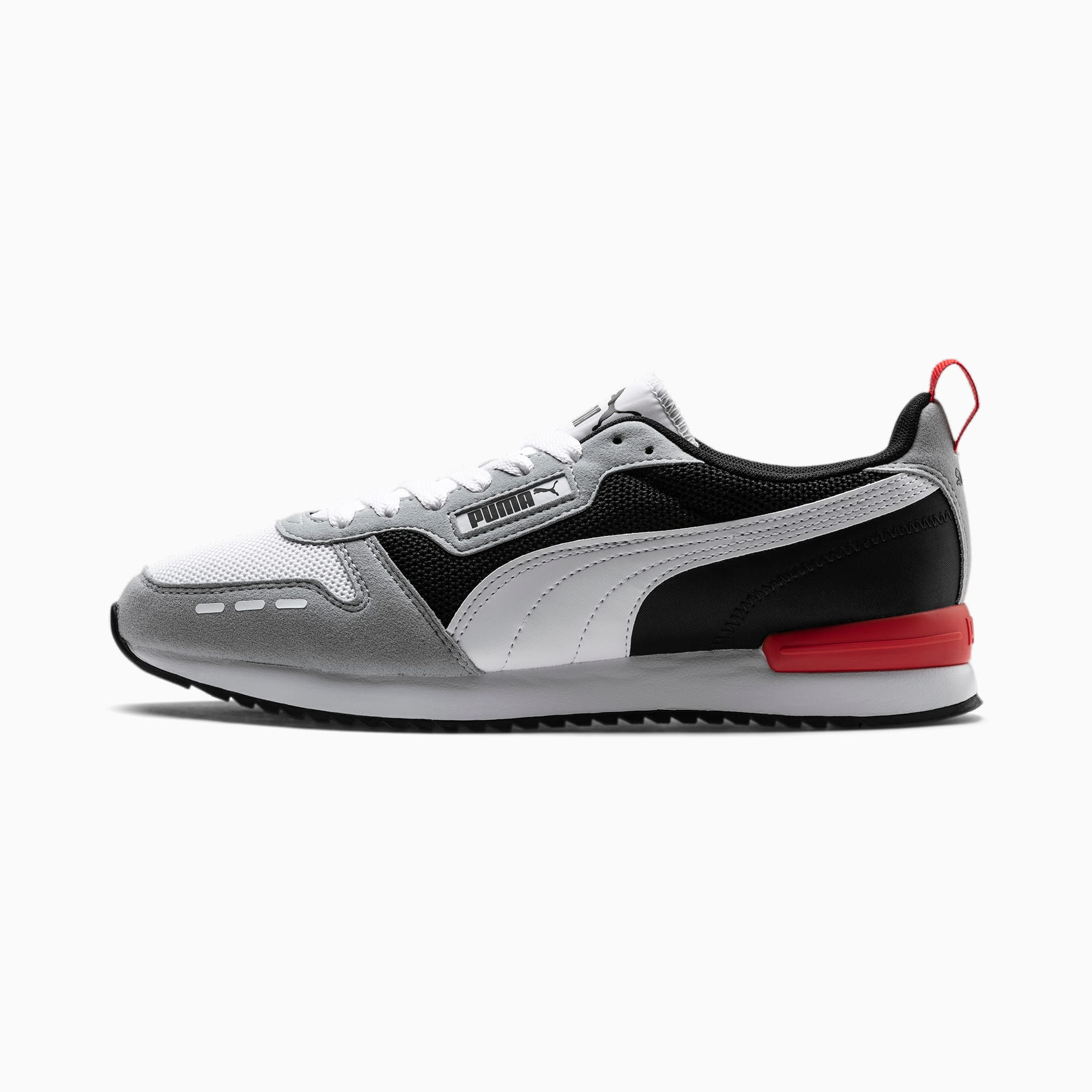 puma R78 Runner sportschoenen, Zwart/Grijs/Wit42,5