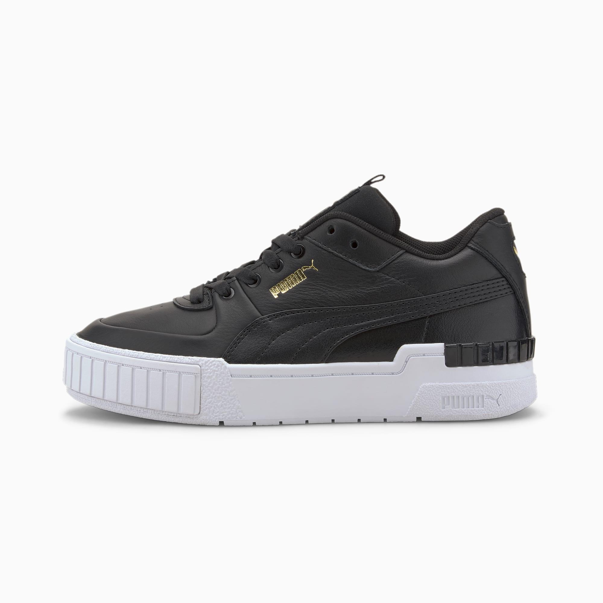 PUMA Cali Sport Damen Sneaker Schuhe | Mit Aucun | Schwarz/Weiß | Größe: 39