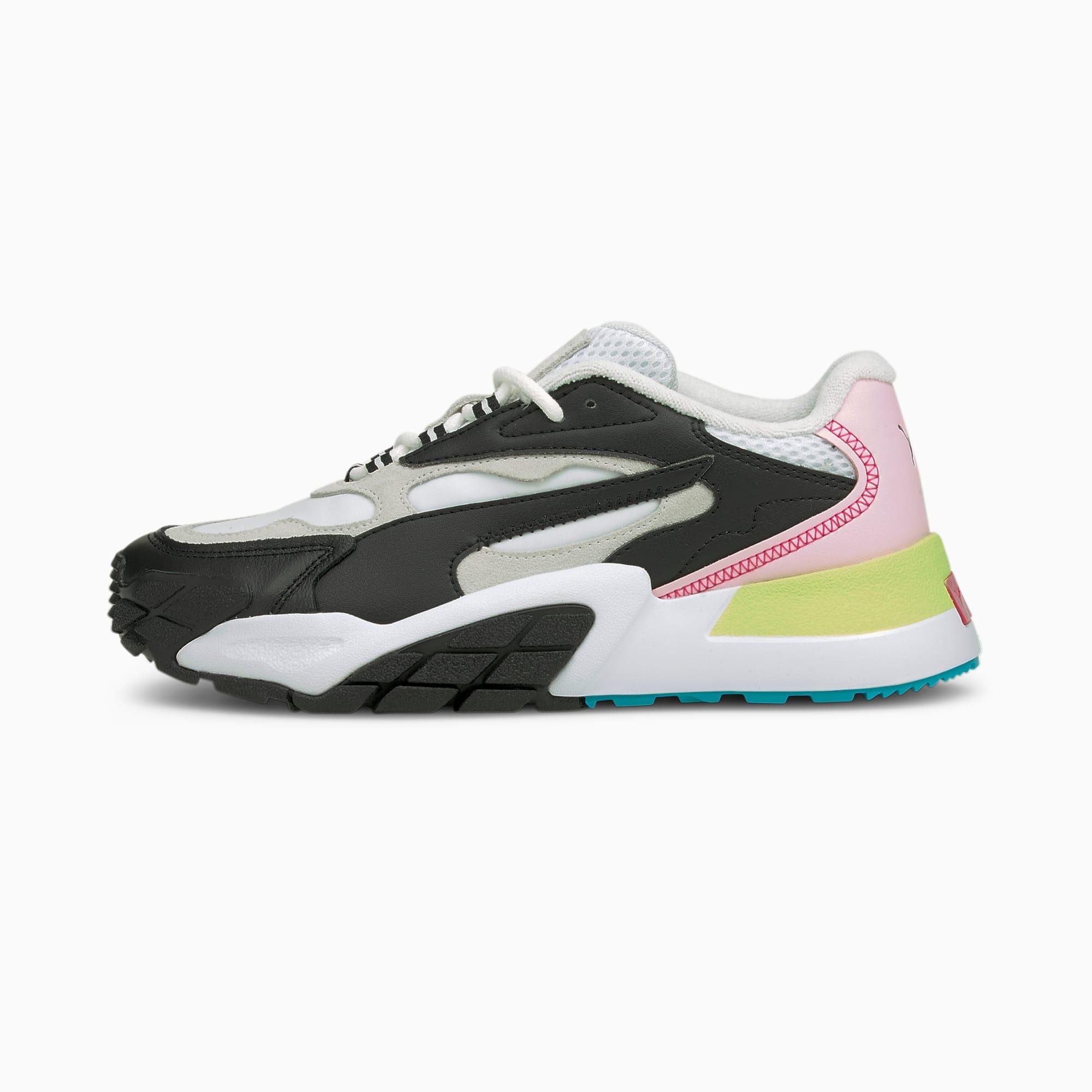 Hedra Fantasy sneakers dames, Wit/Roze/Zwart, Maat 42,5   PUMA