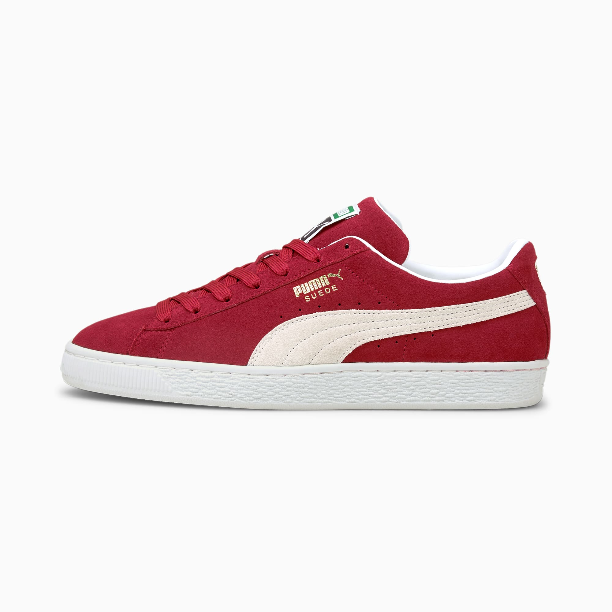 Suede Classic XXI sneakers, Rood/Wit, Maat 35,5   PUMA