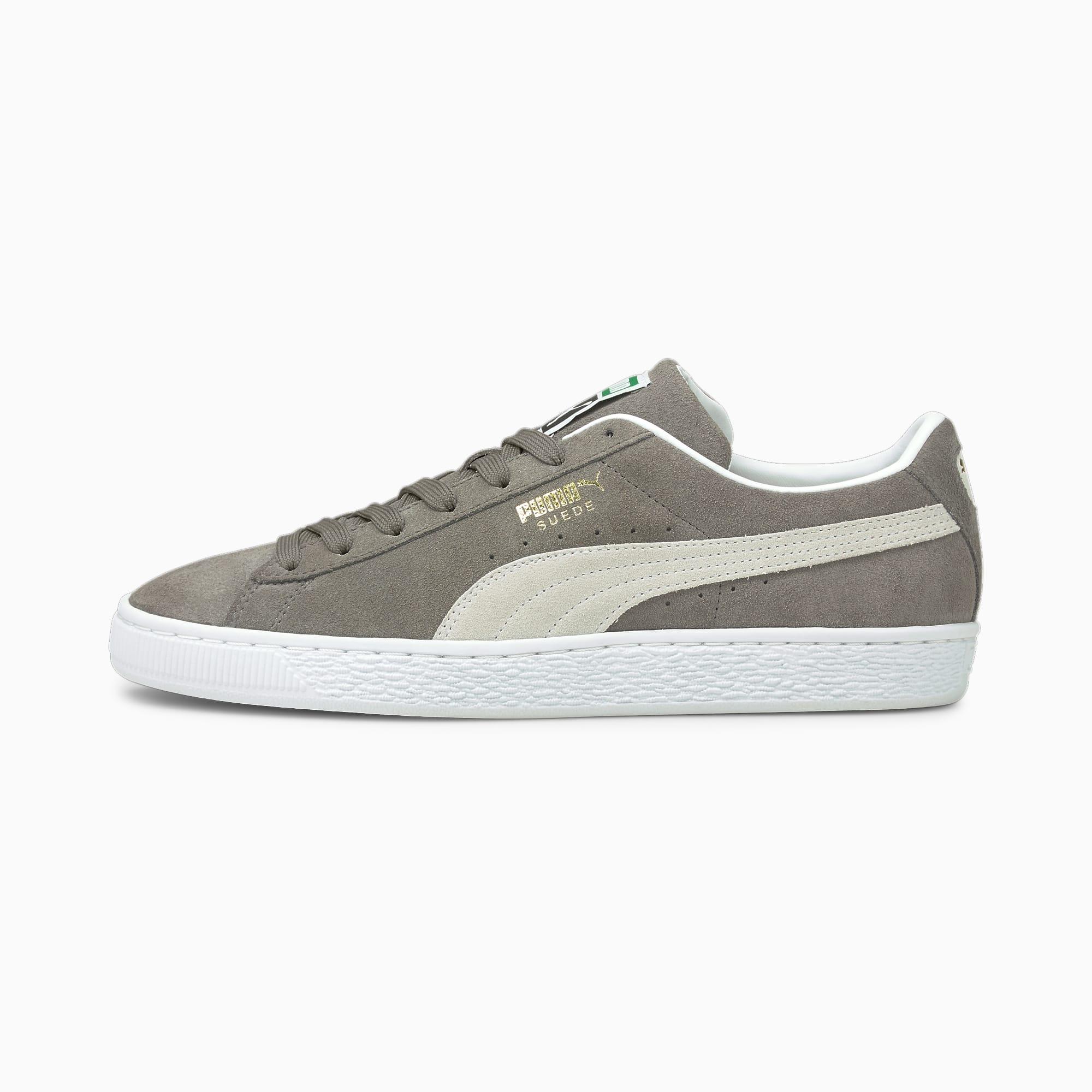 Suede Classic XXI sneakers, Grijs/Wit, Maat 36   PUMA