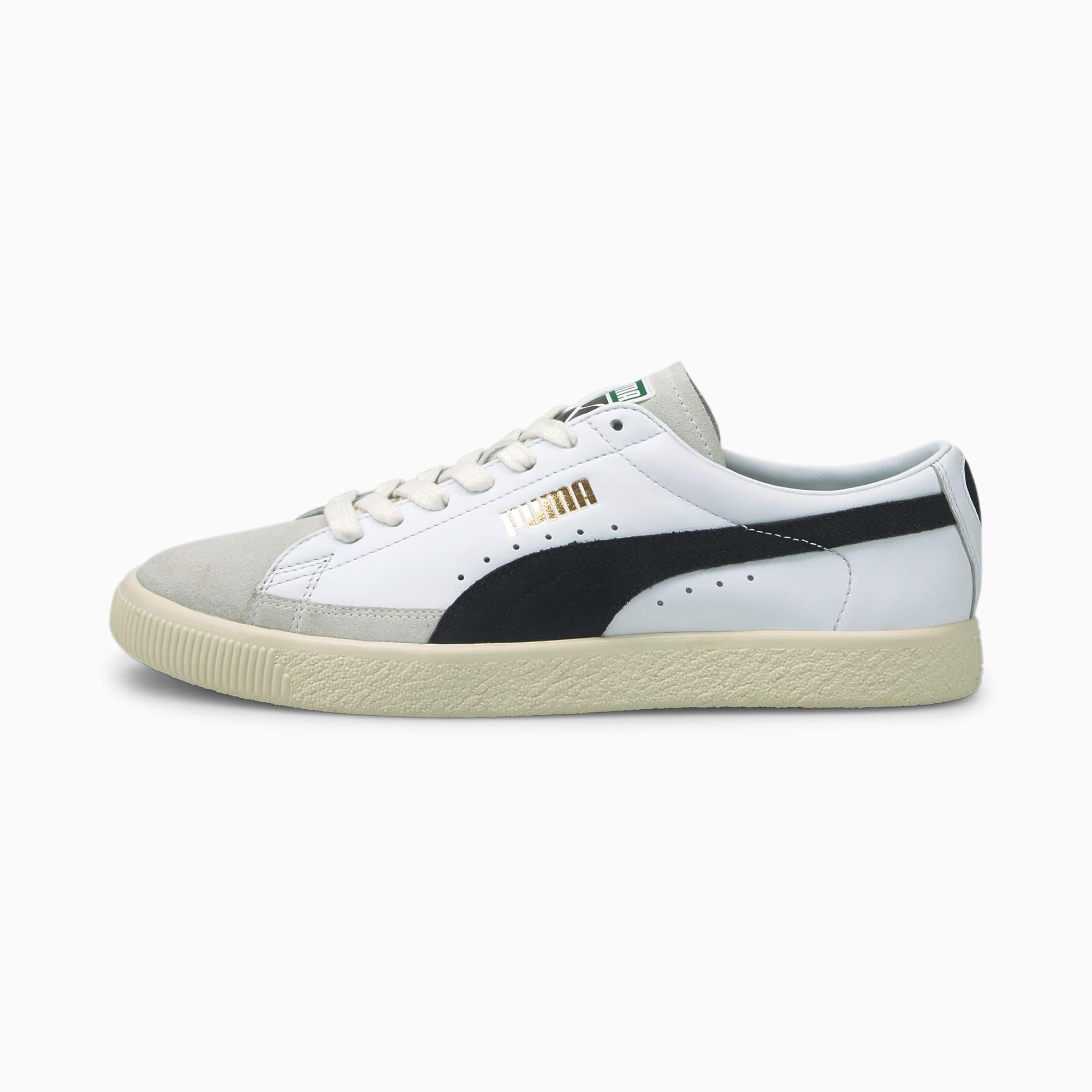 Chaussure Baskets Basket VTG, Blanc/Noir, Taille 40, Chaussures - PUMA - Modalova